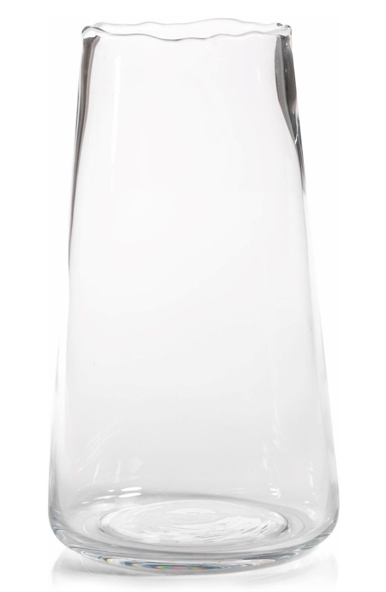 Manarola Vase,                             Main thumbnail 1, color,                             Clear