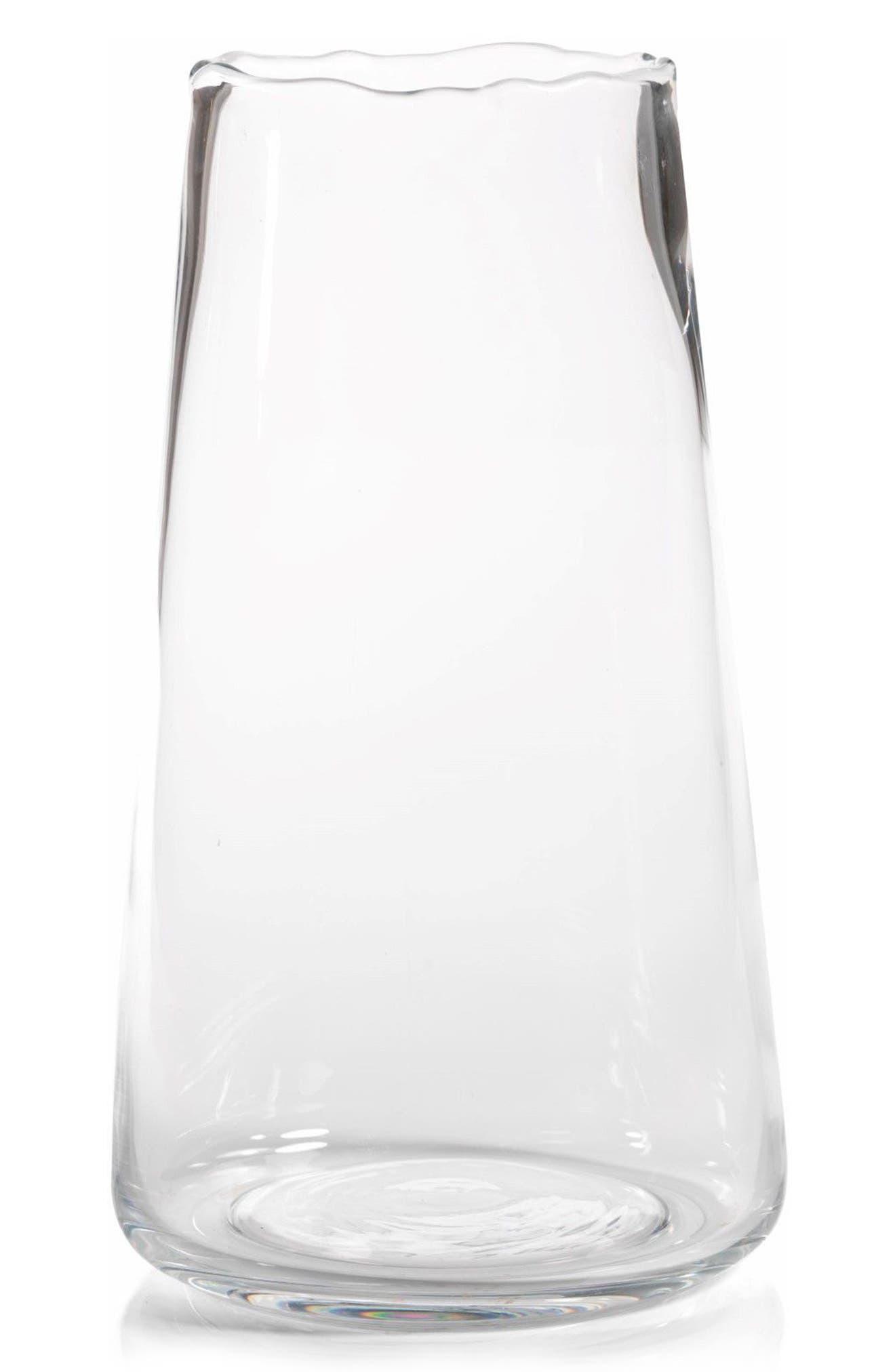 Manarola Vase,                         Main,                         color, Clear