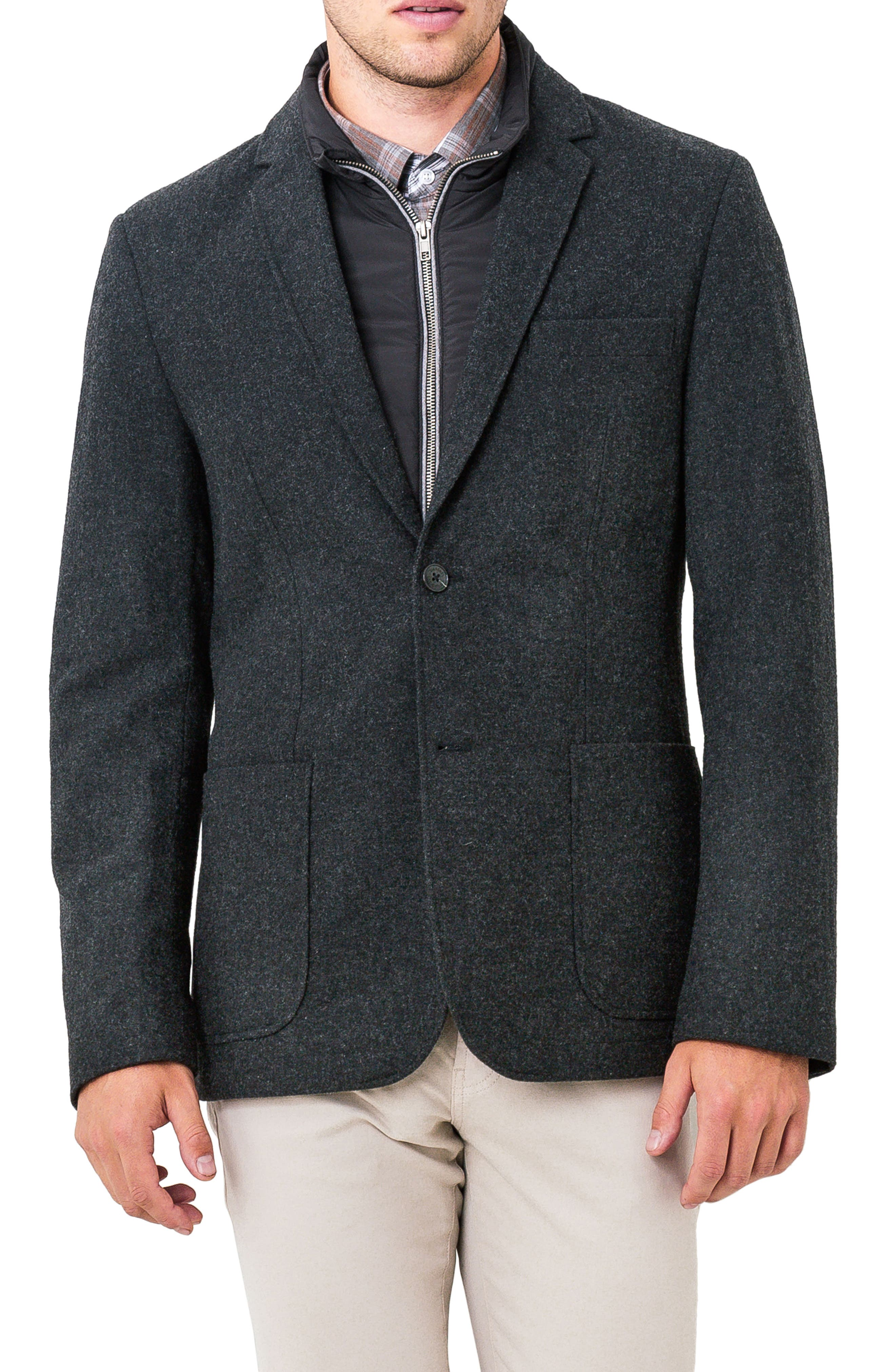 7 Diamonds Transit Casual Blazer