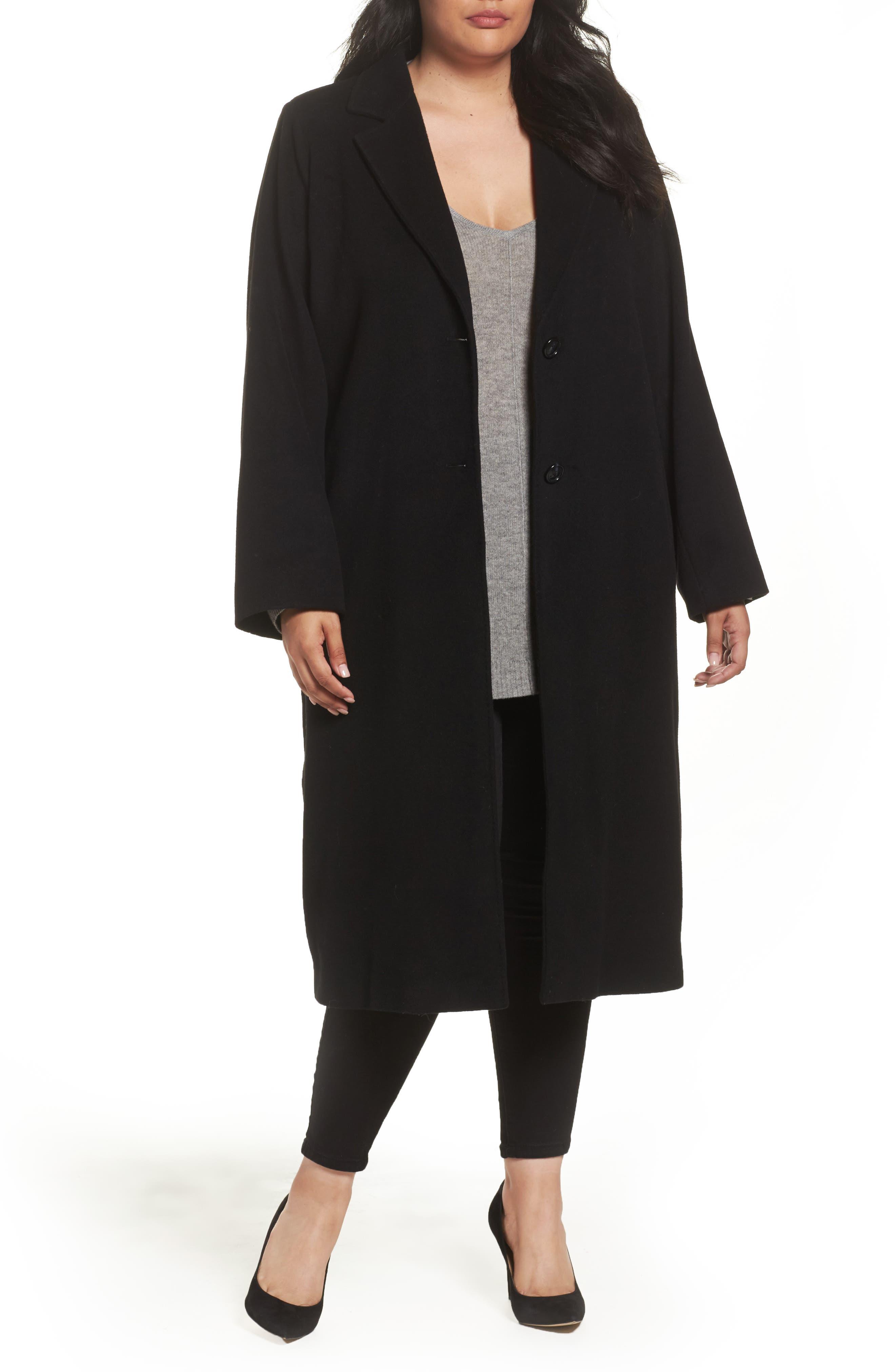 Main Image - Persona by Marina Rinaldi Tamigi Coat (Plus Size)