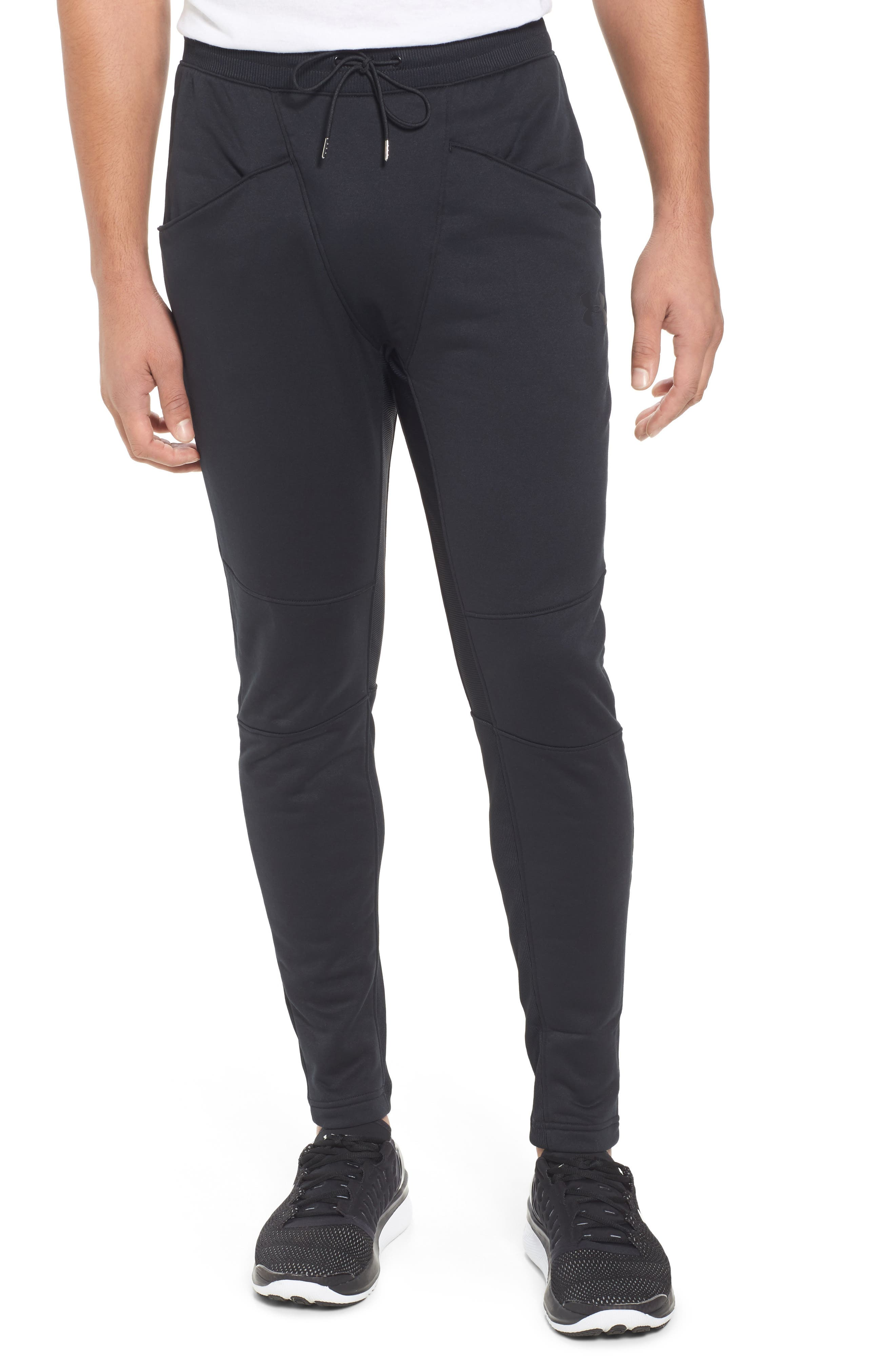 Courtside Training Pants,                         Main,                         color, Black / Black / Black