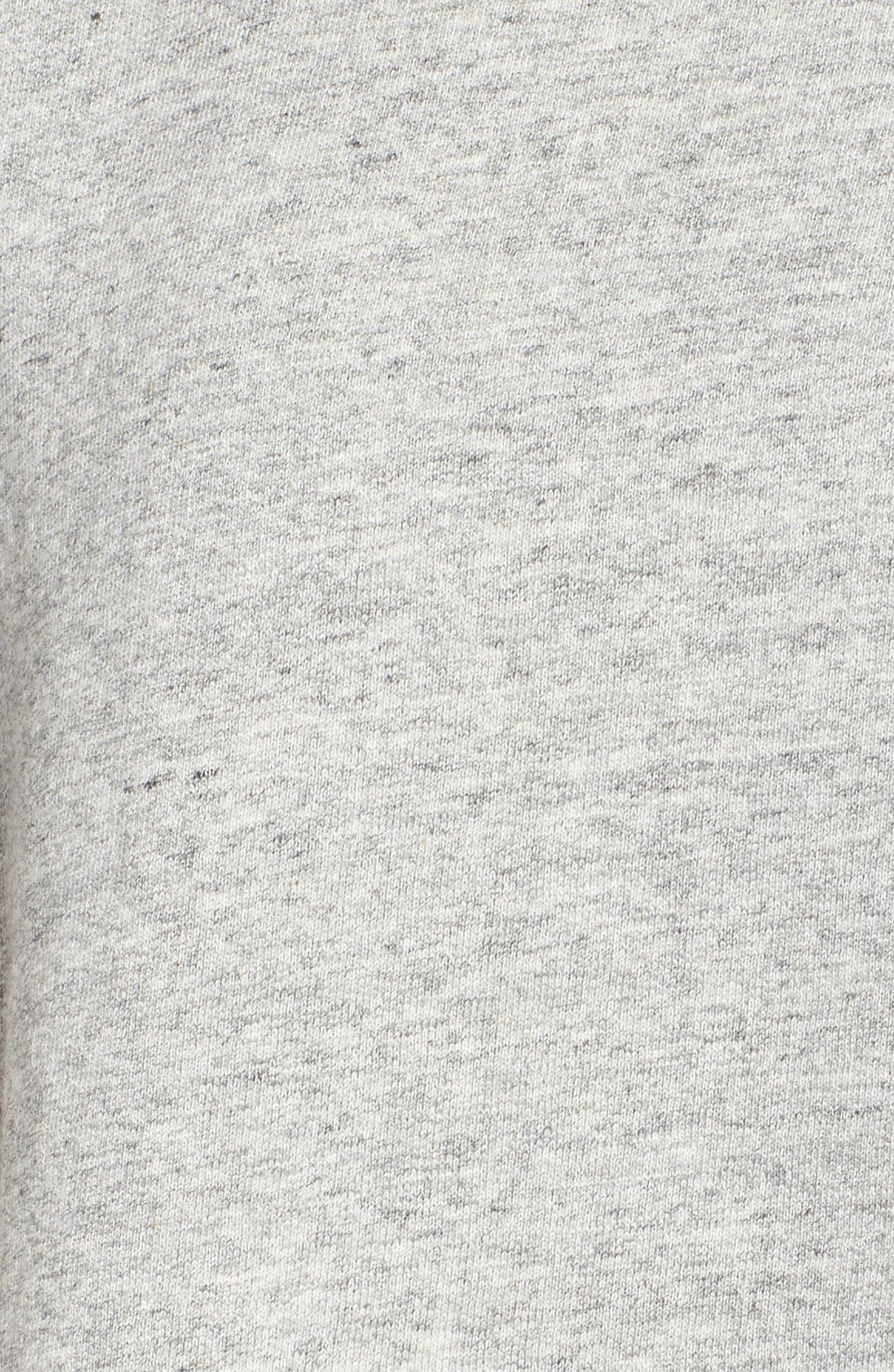 Bes Sweatshirt,                             Alternate thumbnail 5, color,                             Heather Grey