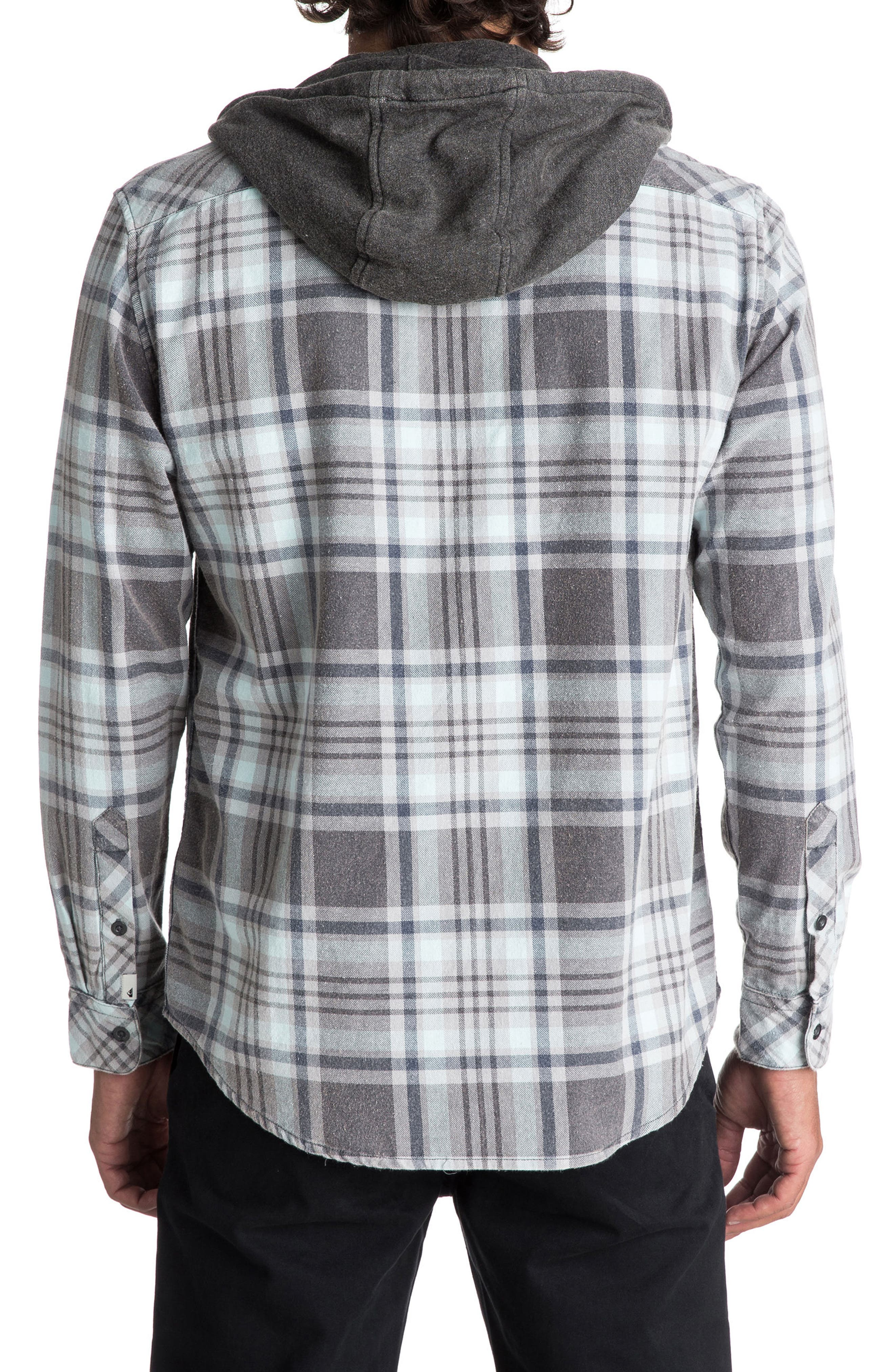 Alternate Image 2  - Quiksilver Tang Hooded Woven Shirt