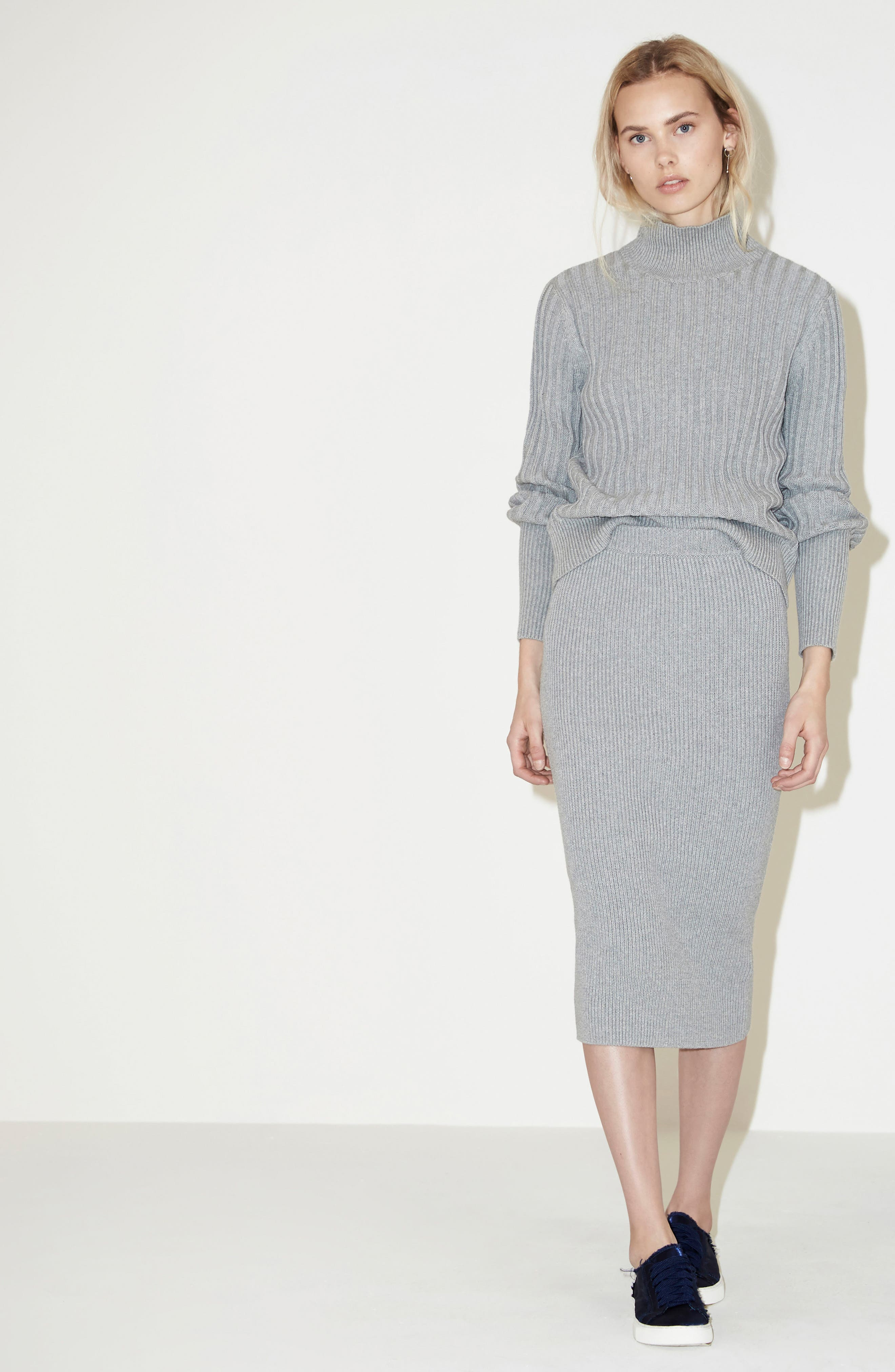 Alternate Image 7  - The Fifth Label Galactic Knit Skirt