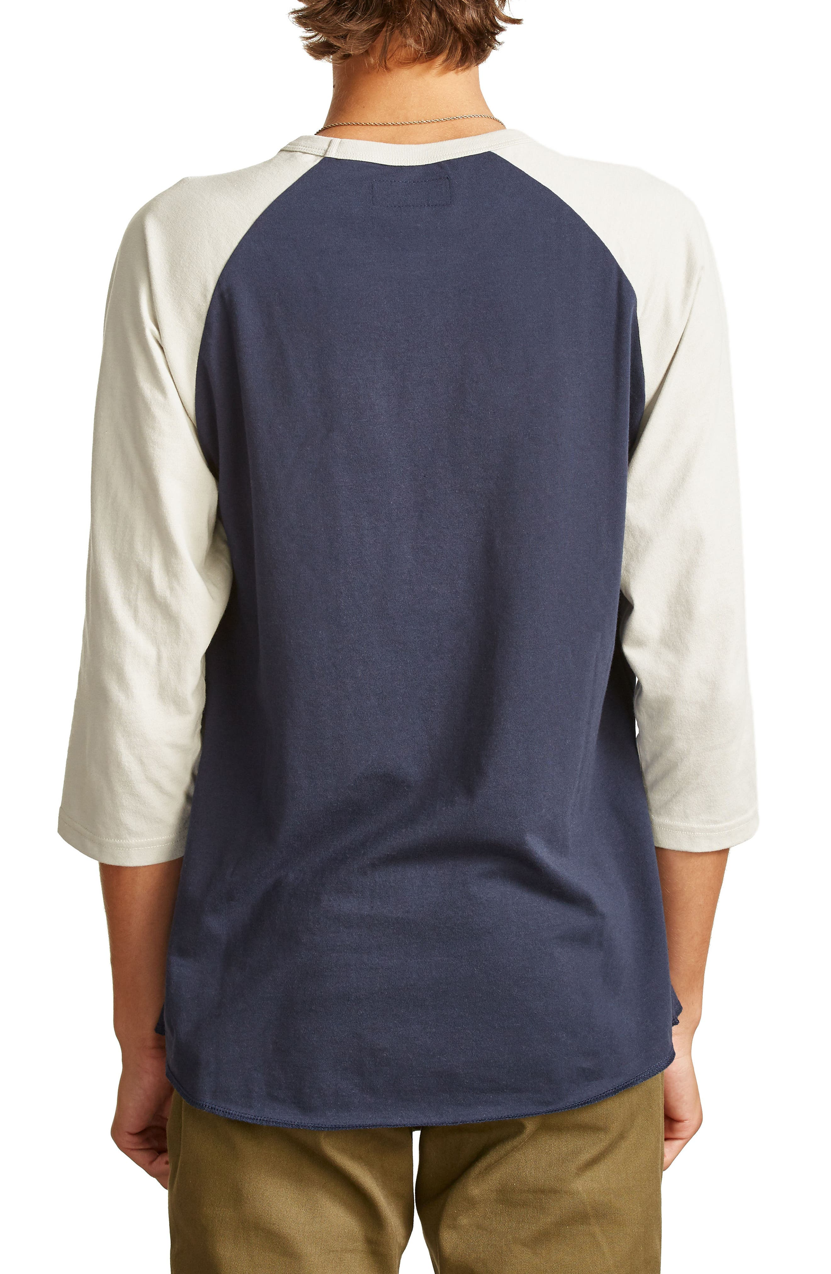 Garth Baseball T-Shirt,                             Alternate thumbnail 2, color,                             Navy