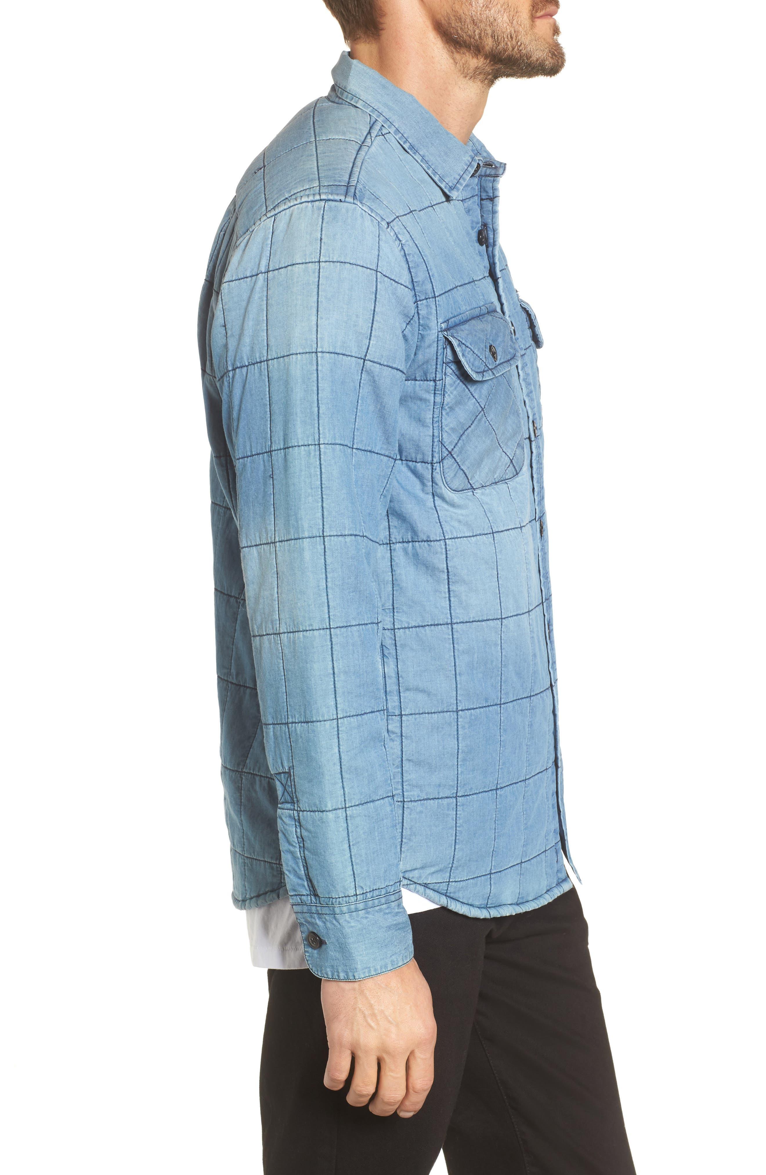 Wrecker Jacket,                             Alternate thumbnail 3, color,                             Vintage Indigo