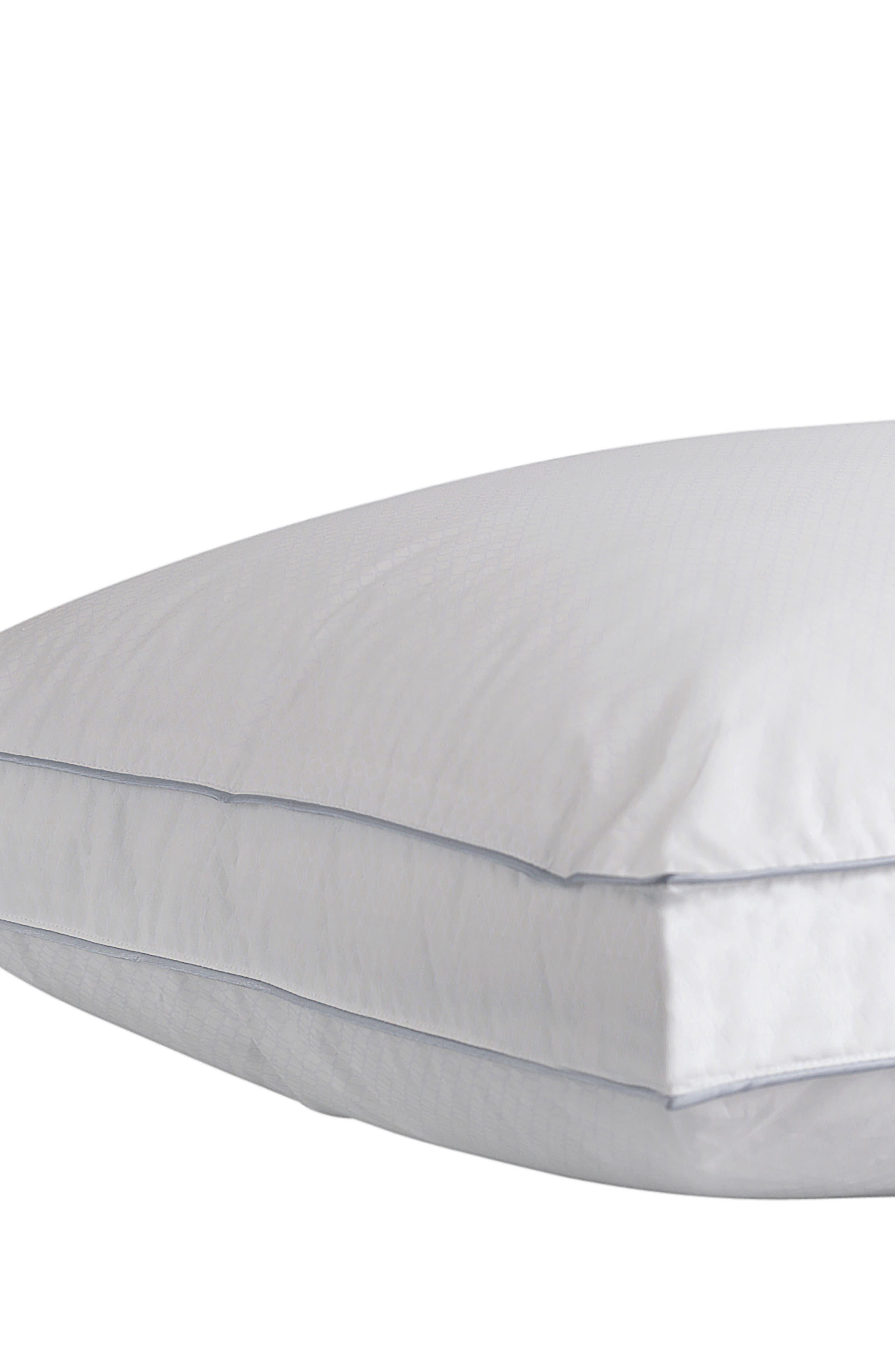Gusseted Pillow,                         Main,                         color, White