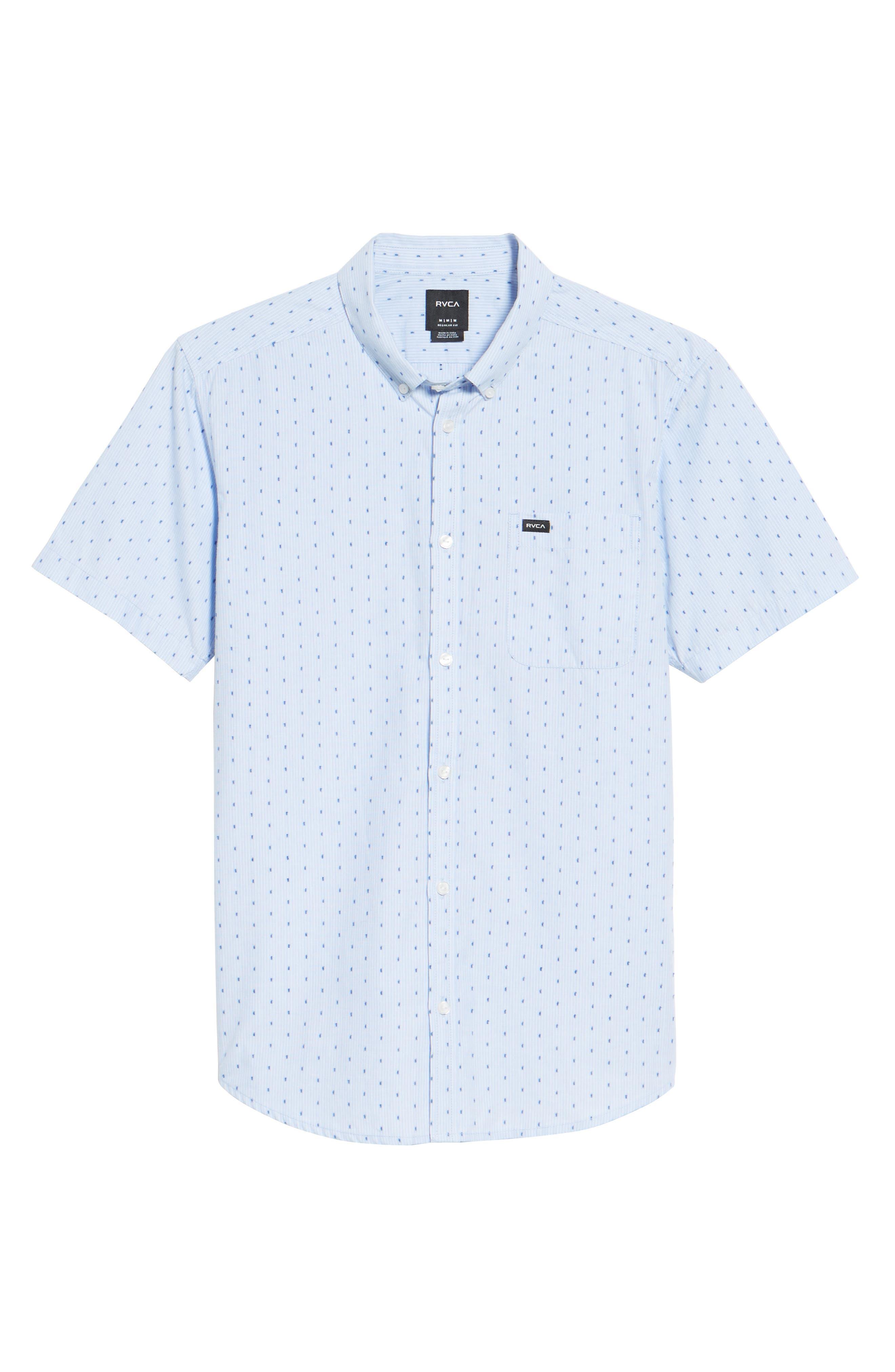 Return Dobby Woven Shirt,                             Alternate thumbnail 6, color,                             Antique White