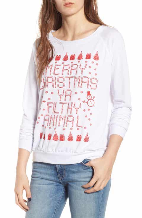 Prince Peter Merry Christmas Ya Filthy Animal Sweatshirt