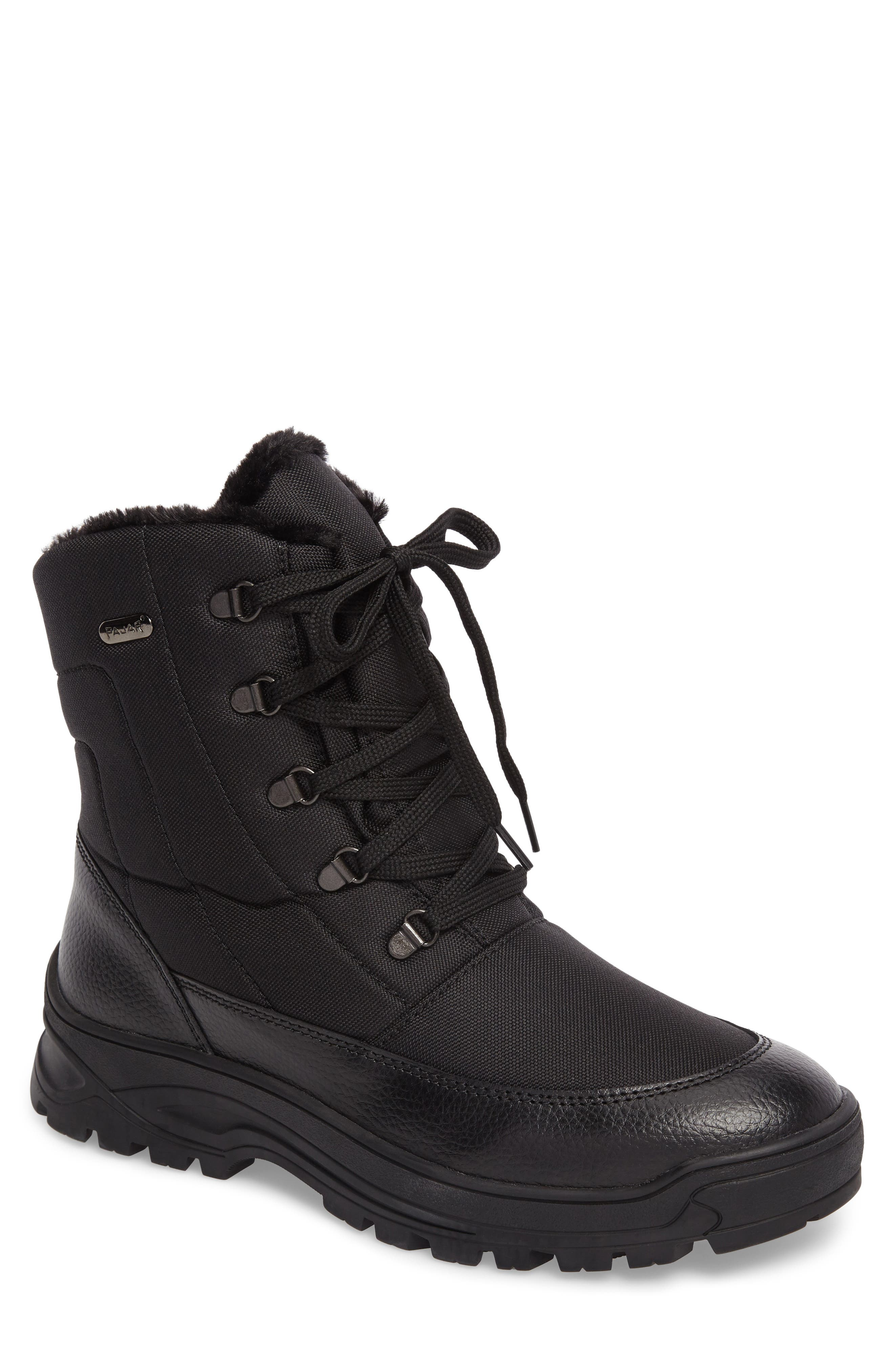 Trigger Winter Boot,                             Main thumbnail 1, color,                             Black