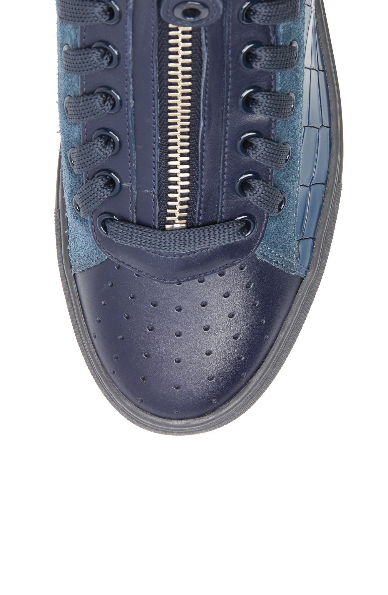 Hekem High-Top Sneaker,                             Alternate thumbnail 5, color,                             Ocean