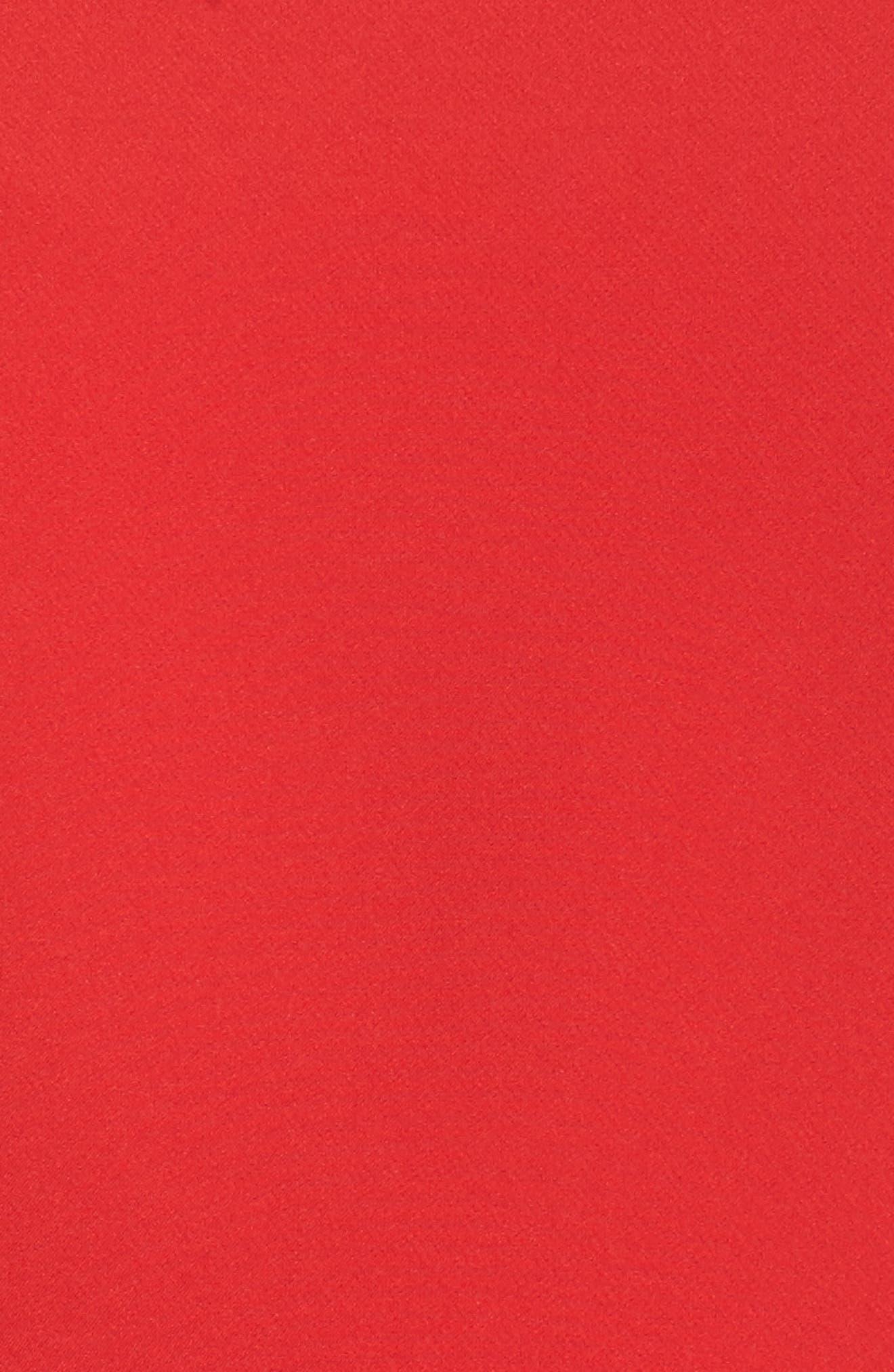 Alternate Image 5  - Maggy London Cold Shoulder Crepe Sheath Dress