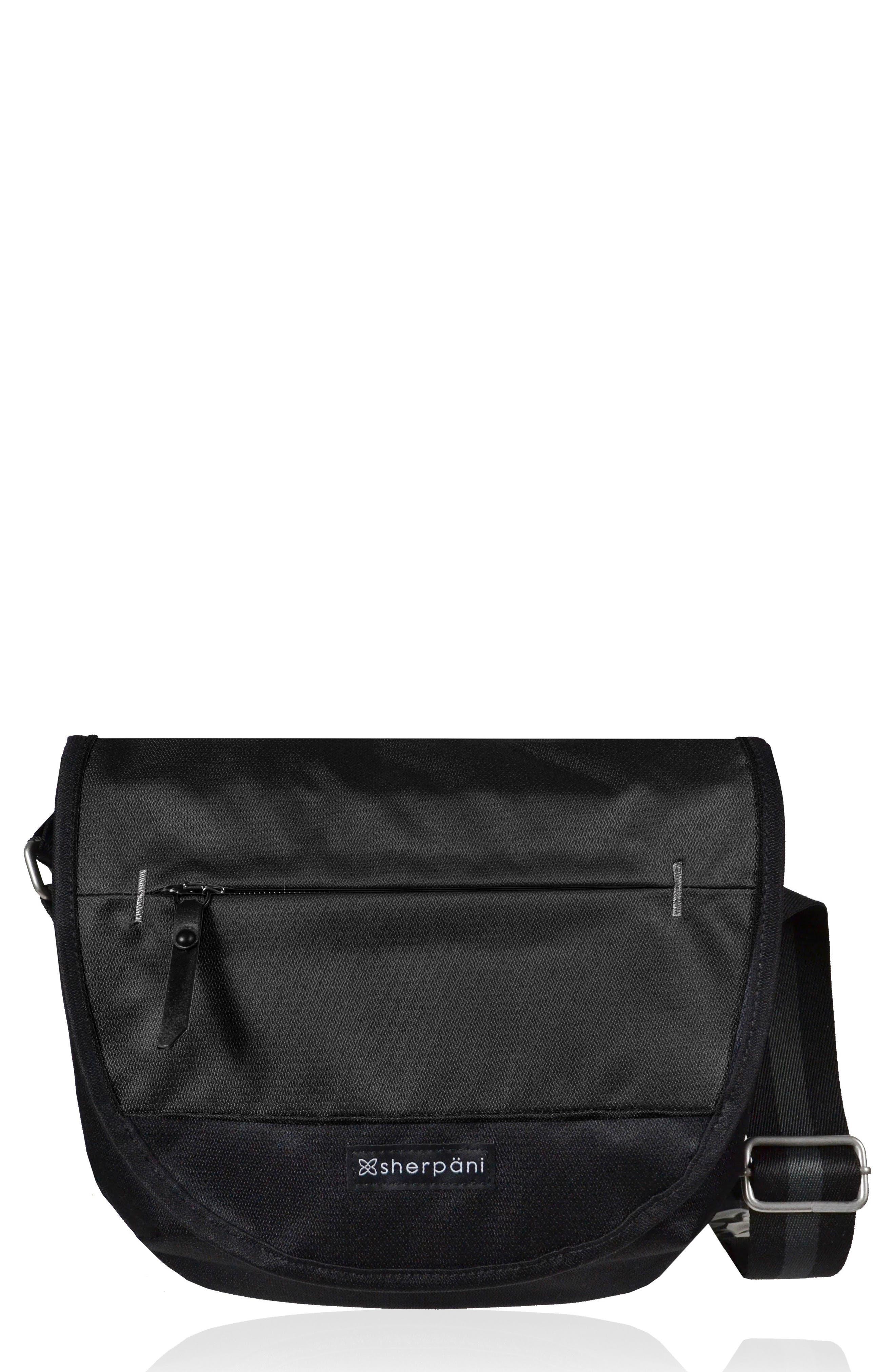Sherpani Milli Water Resistant RFID Picket Messenger Bag