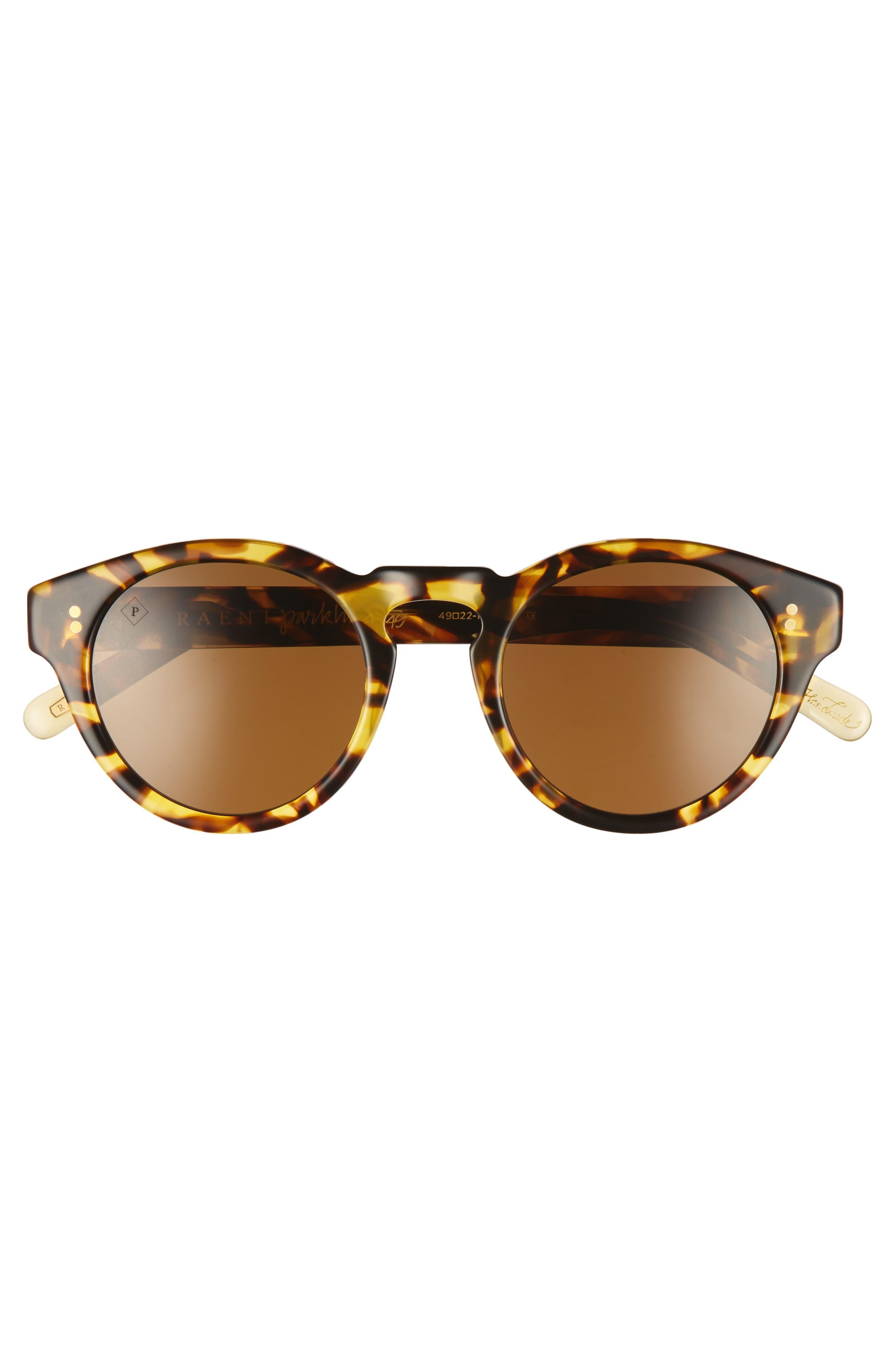 Parkhurst 49mm Sunglasses,                             Alternate thumbnail 2, color,                             Tokyo Tortoise/ Brown