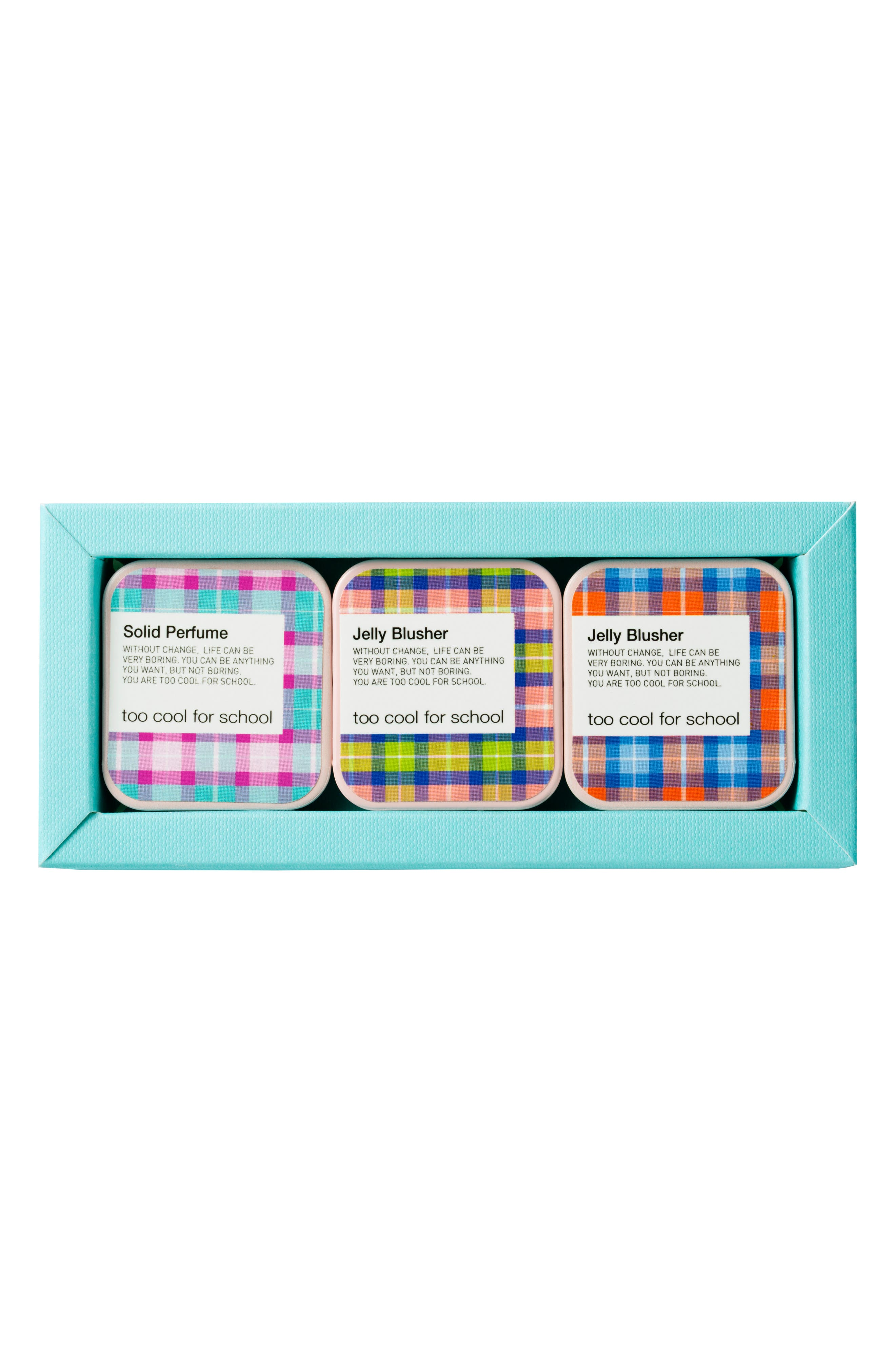 Too Cool for School Jelly Blusher & Solid Perfume Trio (limited Edition)