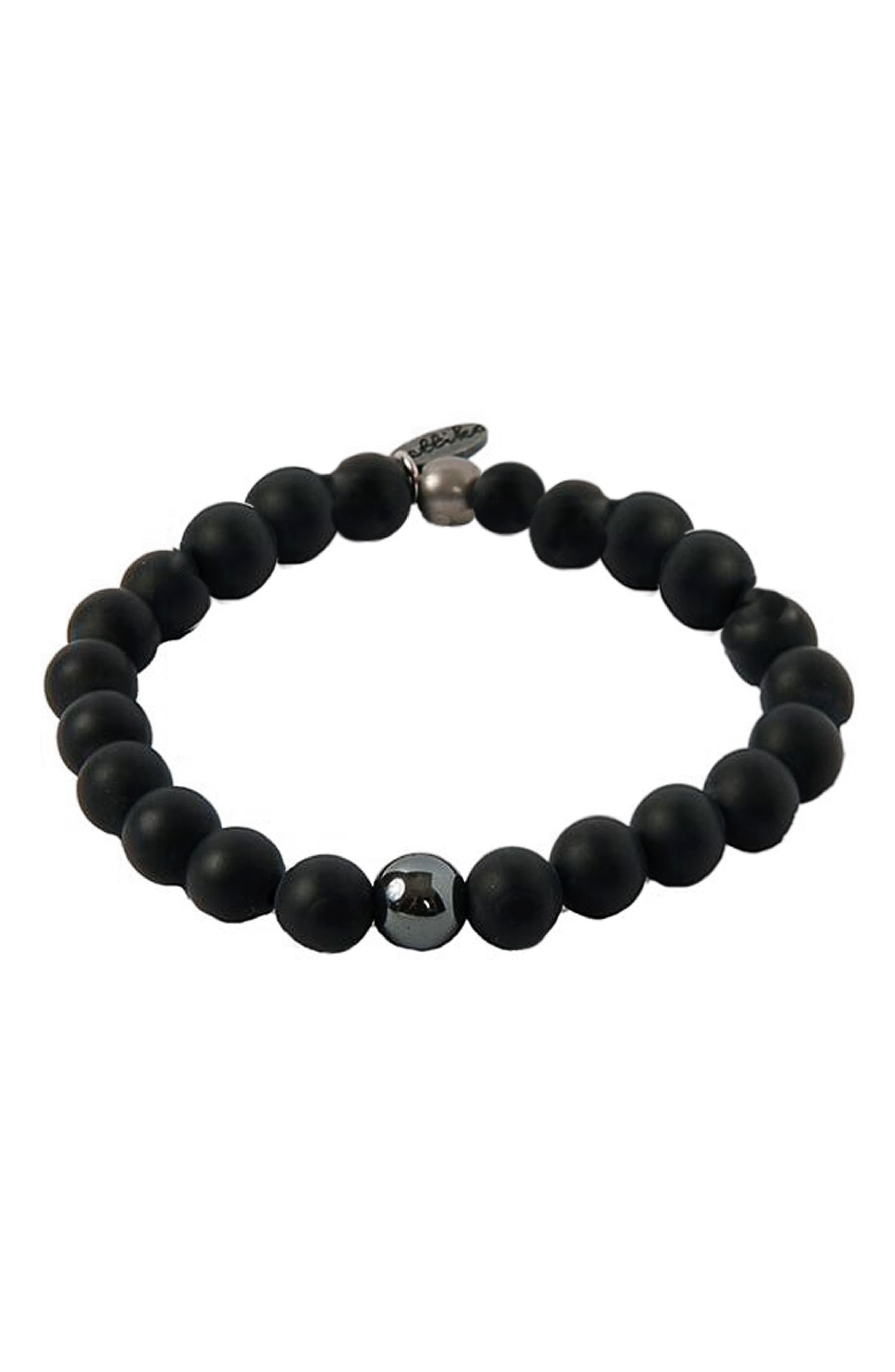 Main Image - Ettika Hematite Onyx Bracelet