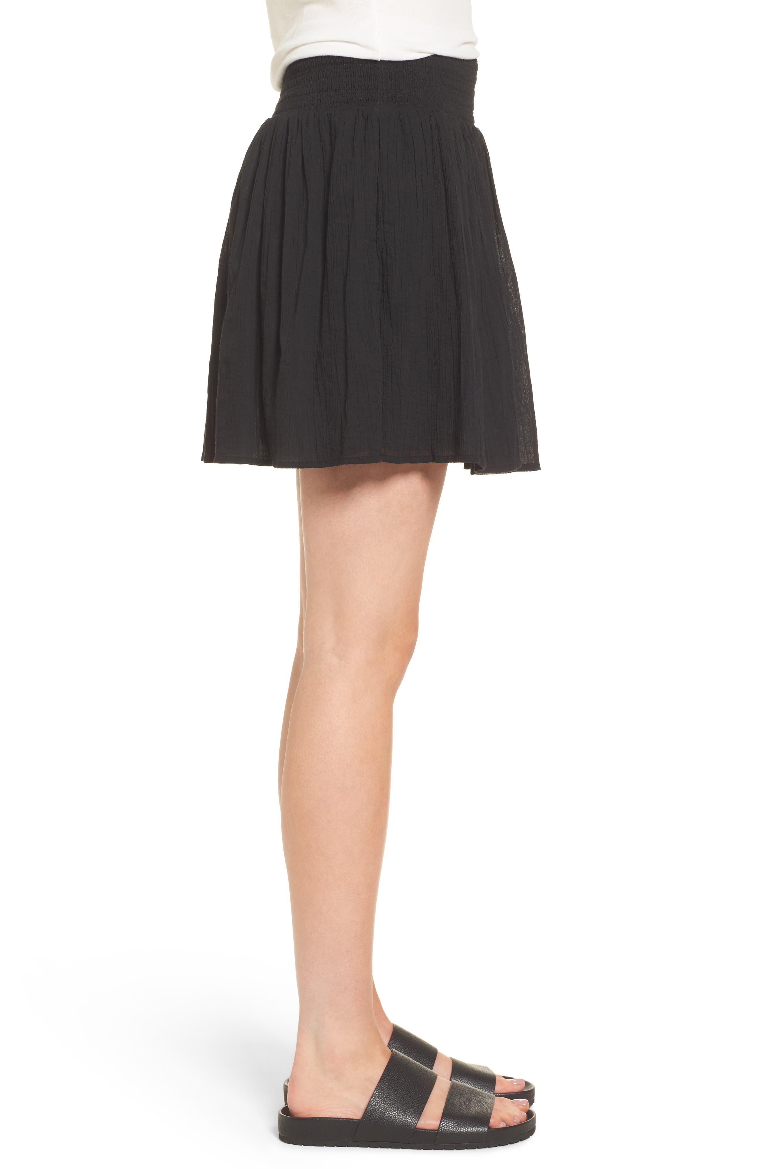 Alternate Image 3  - James Perse Smocked Cotton Skirt