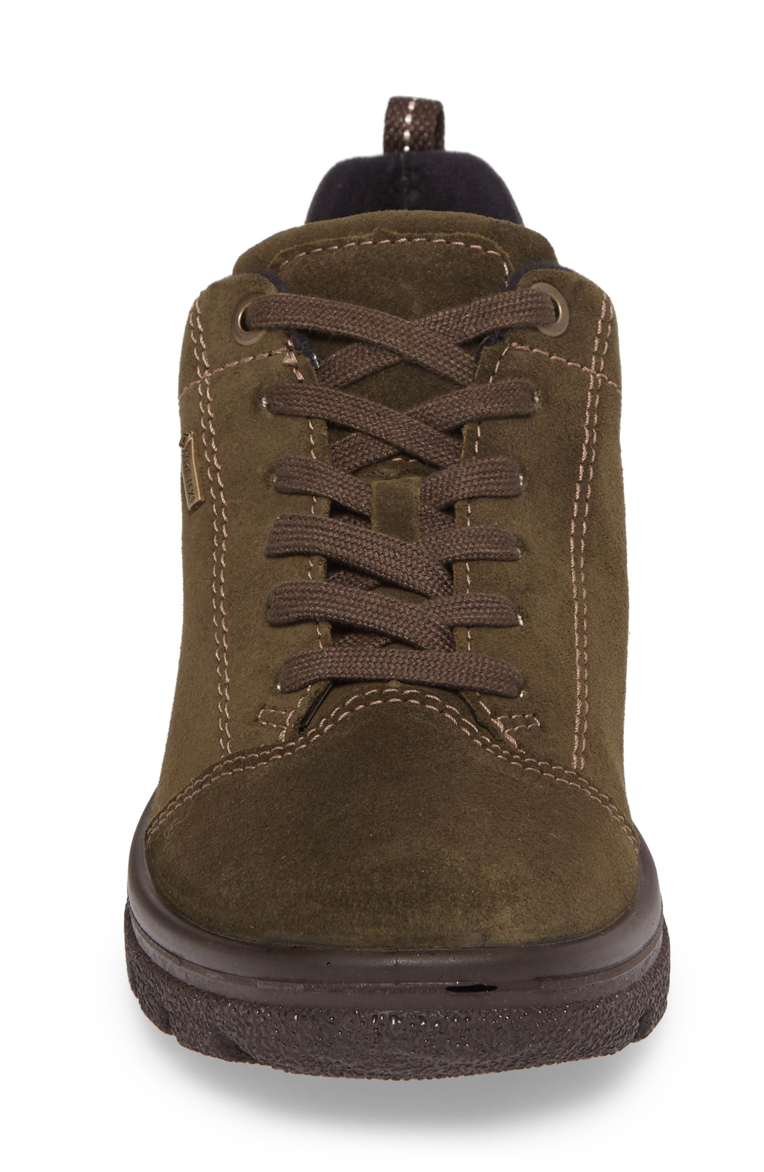 Sophie Gore-Tex<sup>®</sup> Sneaker,                             Alternate thumbnail 4, color,                             Pine Suede