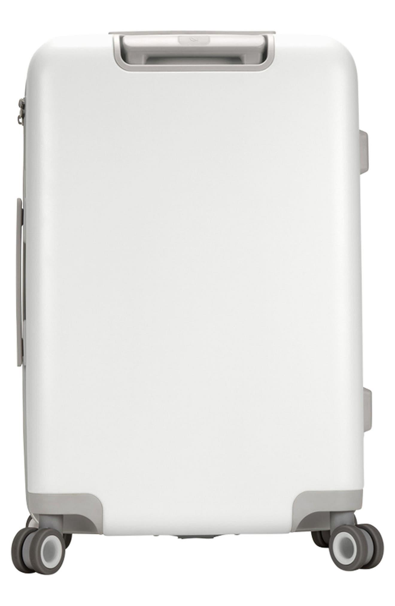 NOVI 27-Inch Hardshell Wheeled Packing Case,                             Alternate thumbnail 3, color,                             White