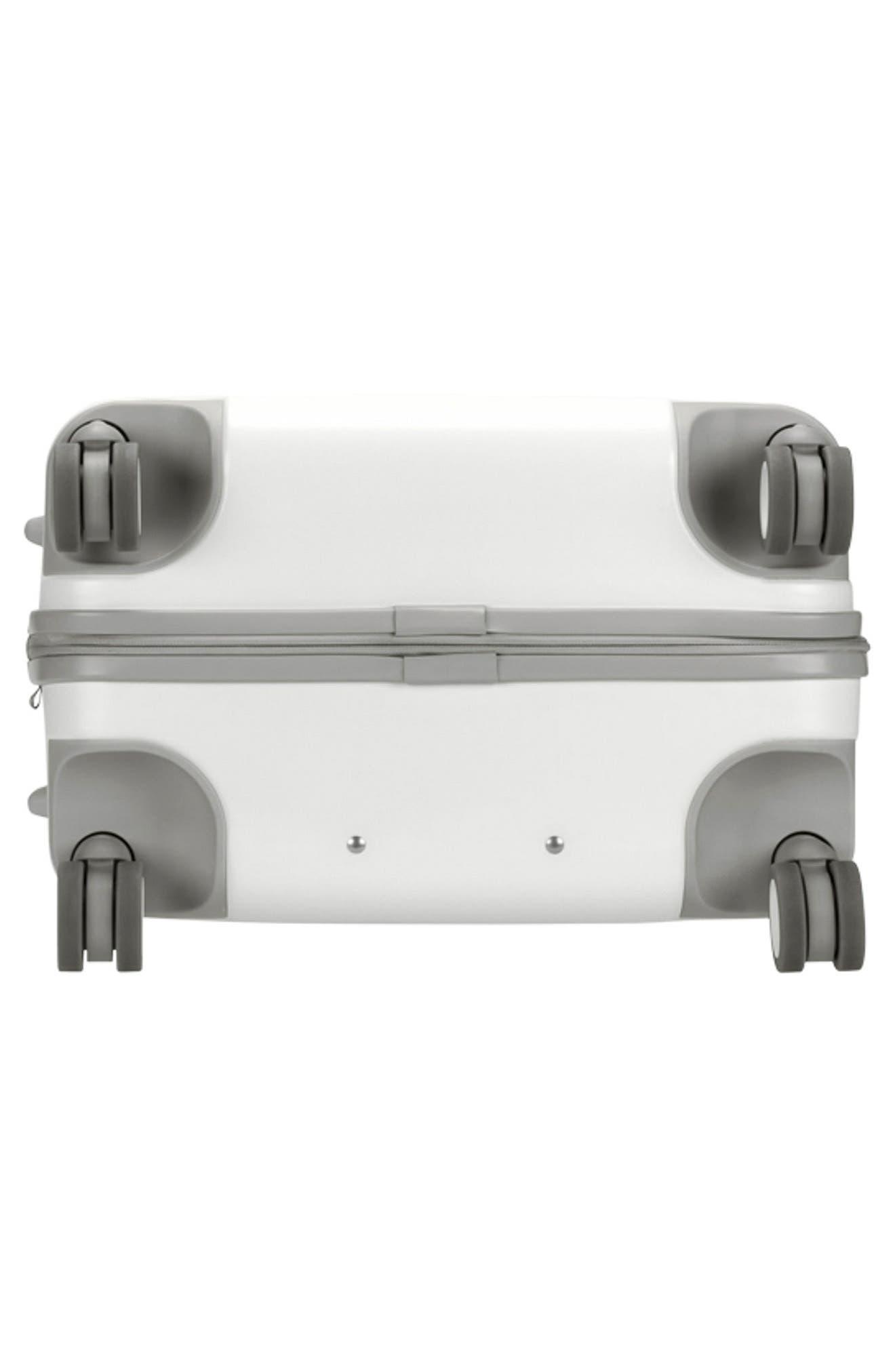 NOVI 27-Inch Hardshell Wheeled Packing Case,                             Alternate thumbnail 9, color,                             White