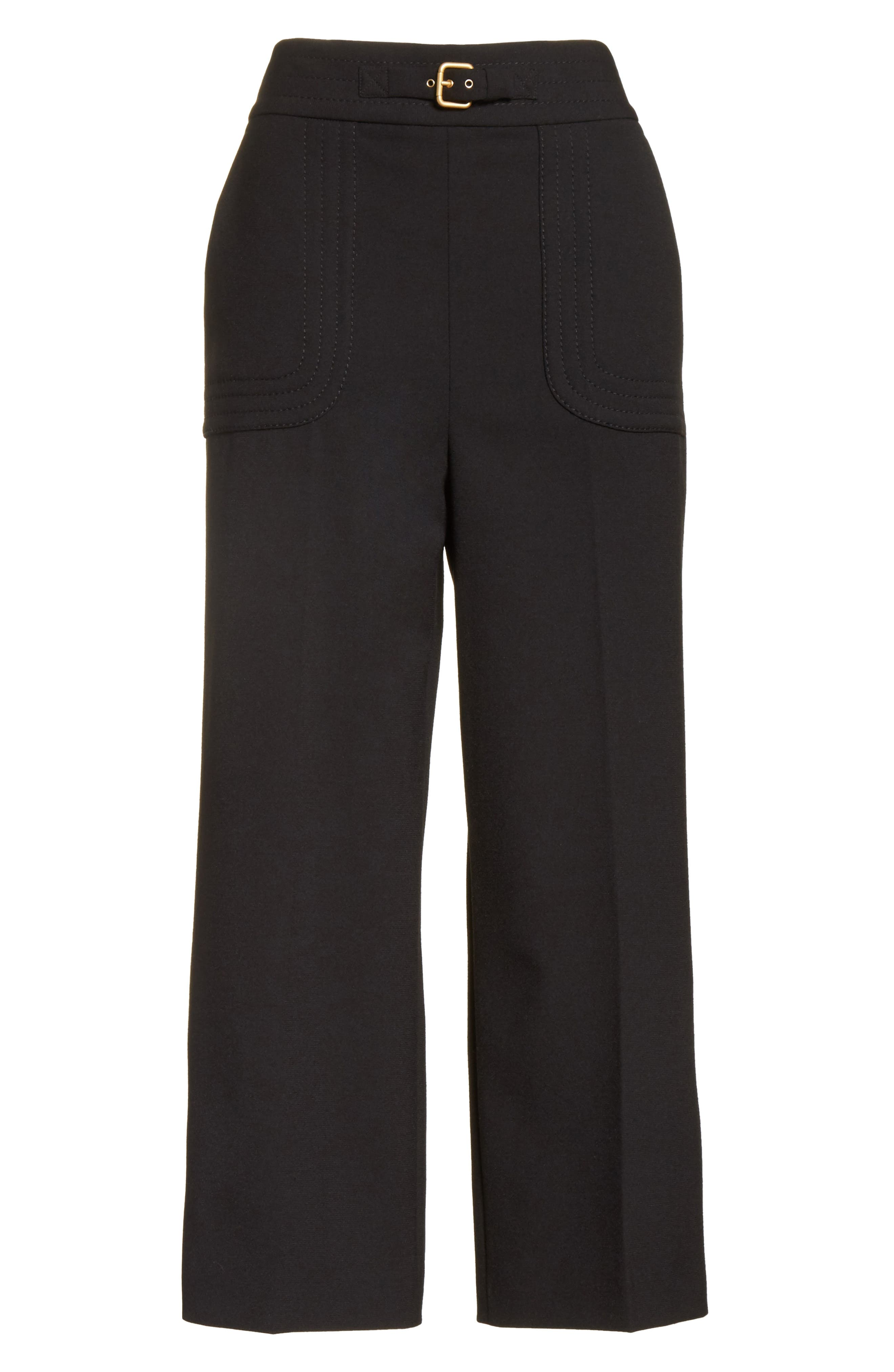 Alternate Image 6  - RED Valentino Belt Detail Culottes