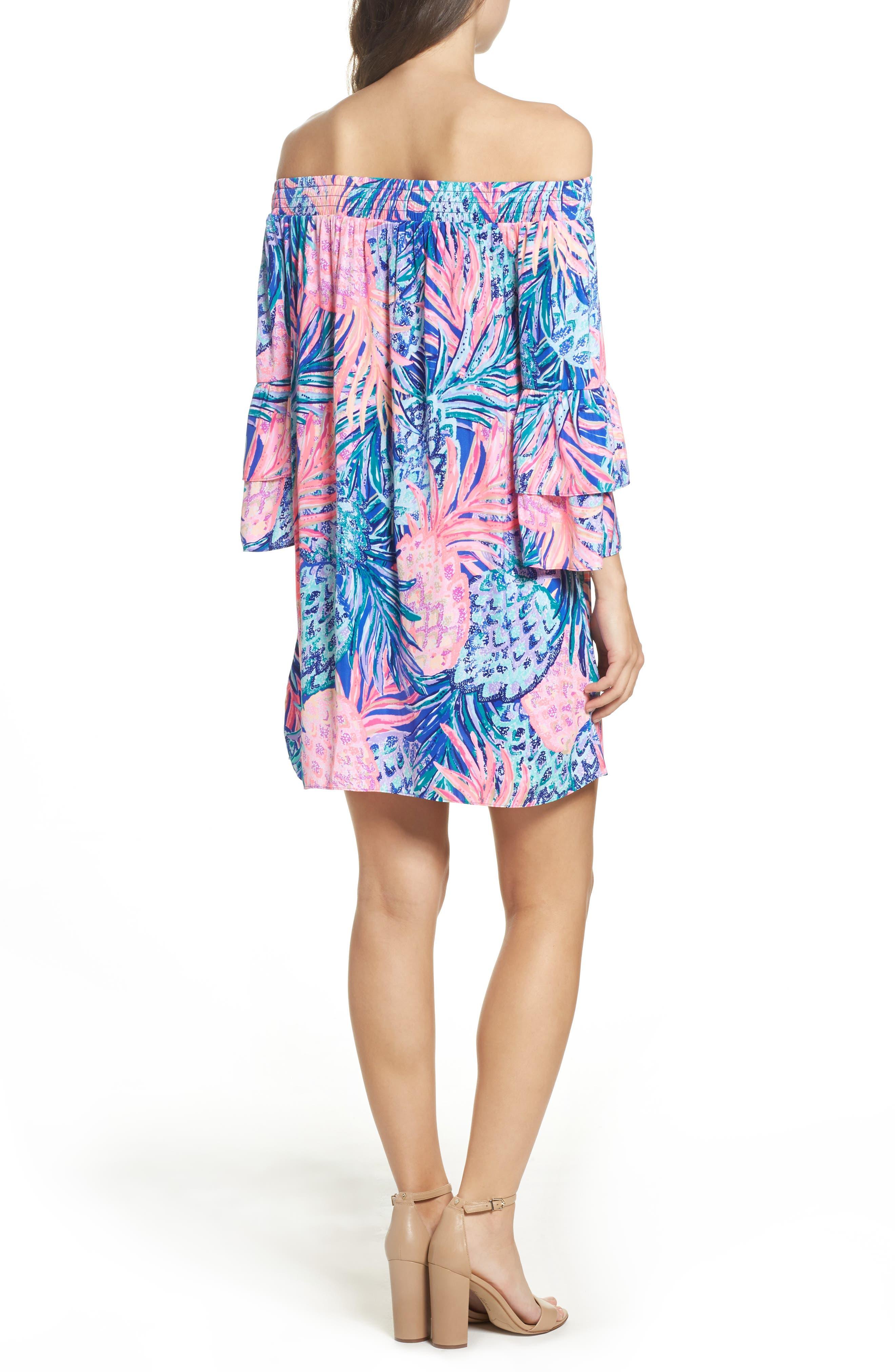 Alternate Image 2  - Lilly Pulitzer® Tobyn Off the Shoulder Dress
