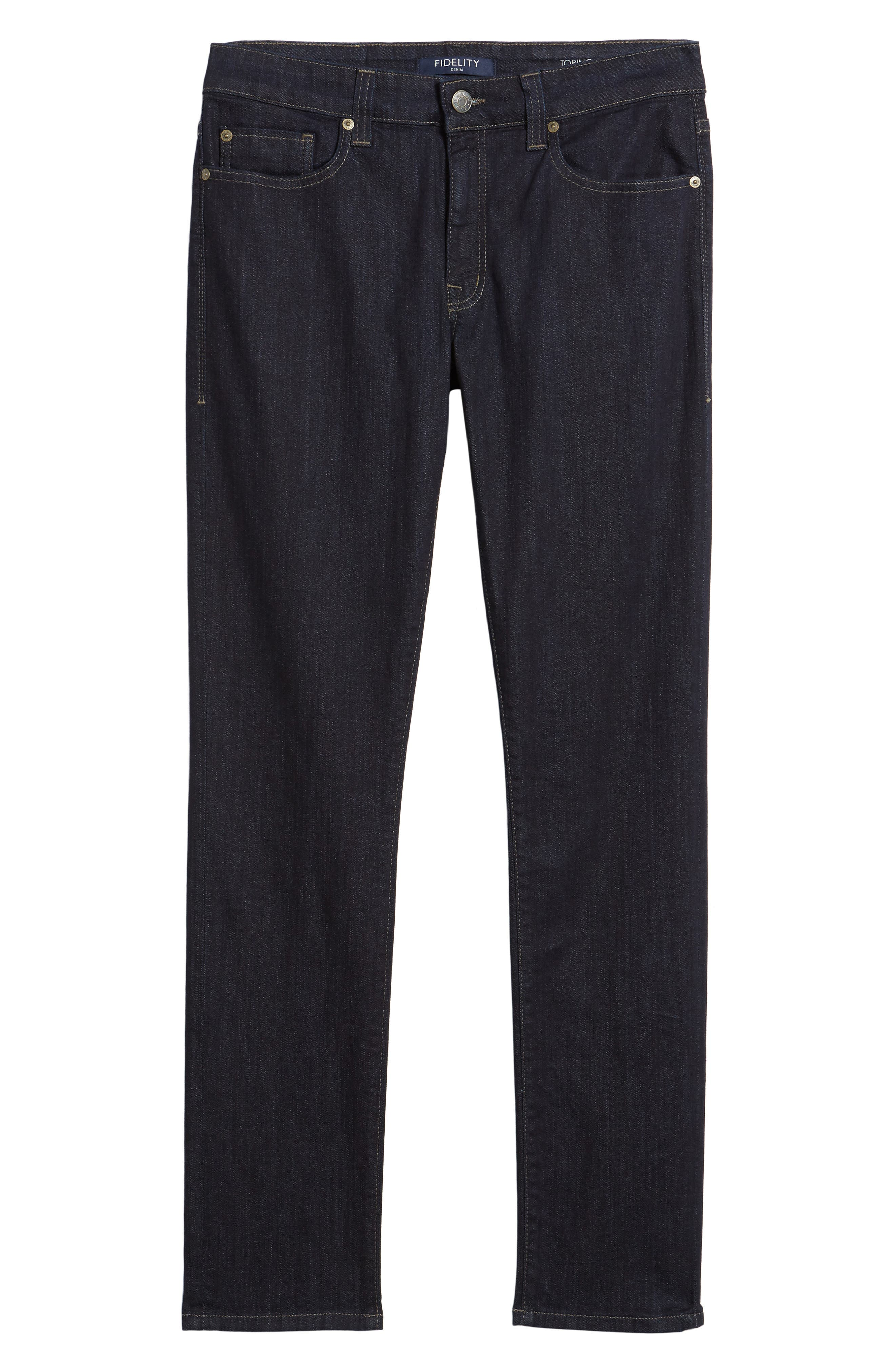 Alternate Image 6  - Fidelity Denim Slim Fit Jeans (Galaxy)