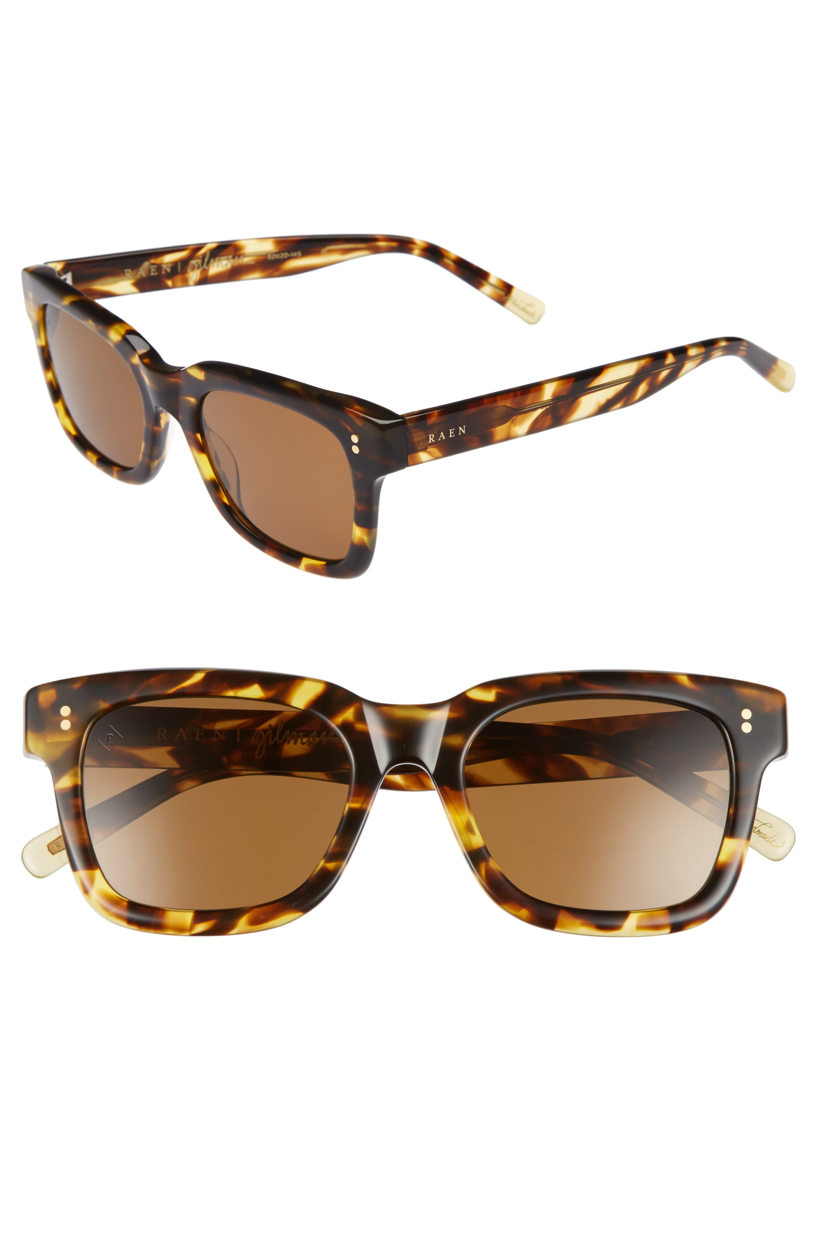 Gilman 52mm Polarized Sunglasses,                         Main,                         color, Tokyo Tortoise/ Brown