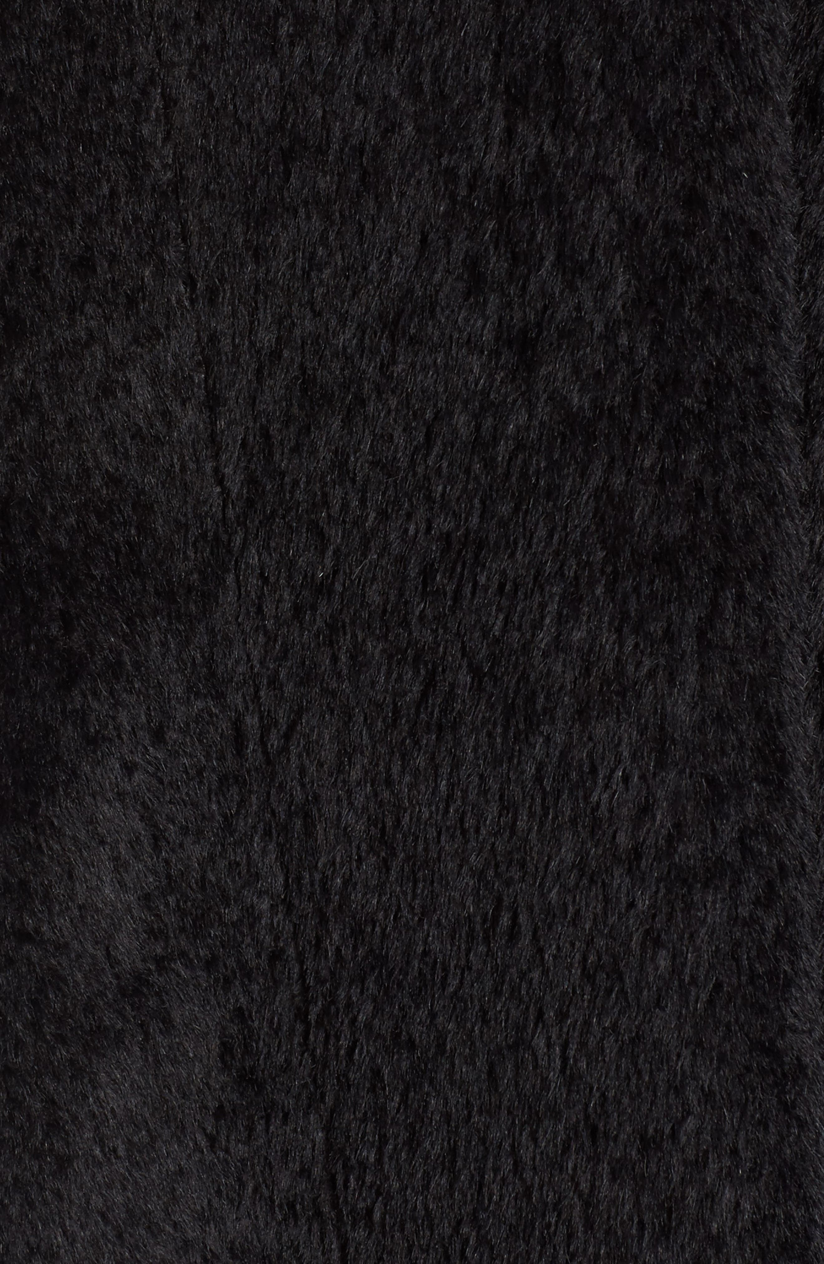 Alternate Image 5  - Blue Duck Hooded Genuine Fox Fur Trim Wool Blend Cape