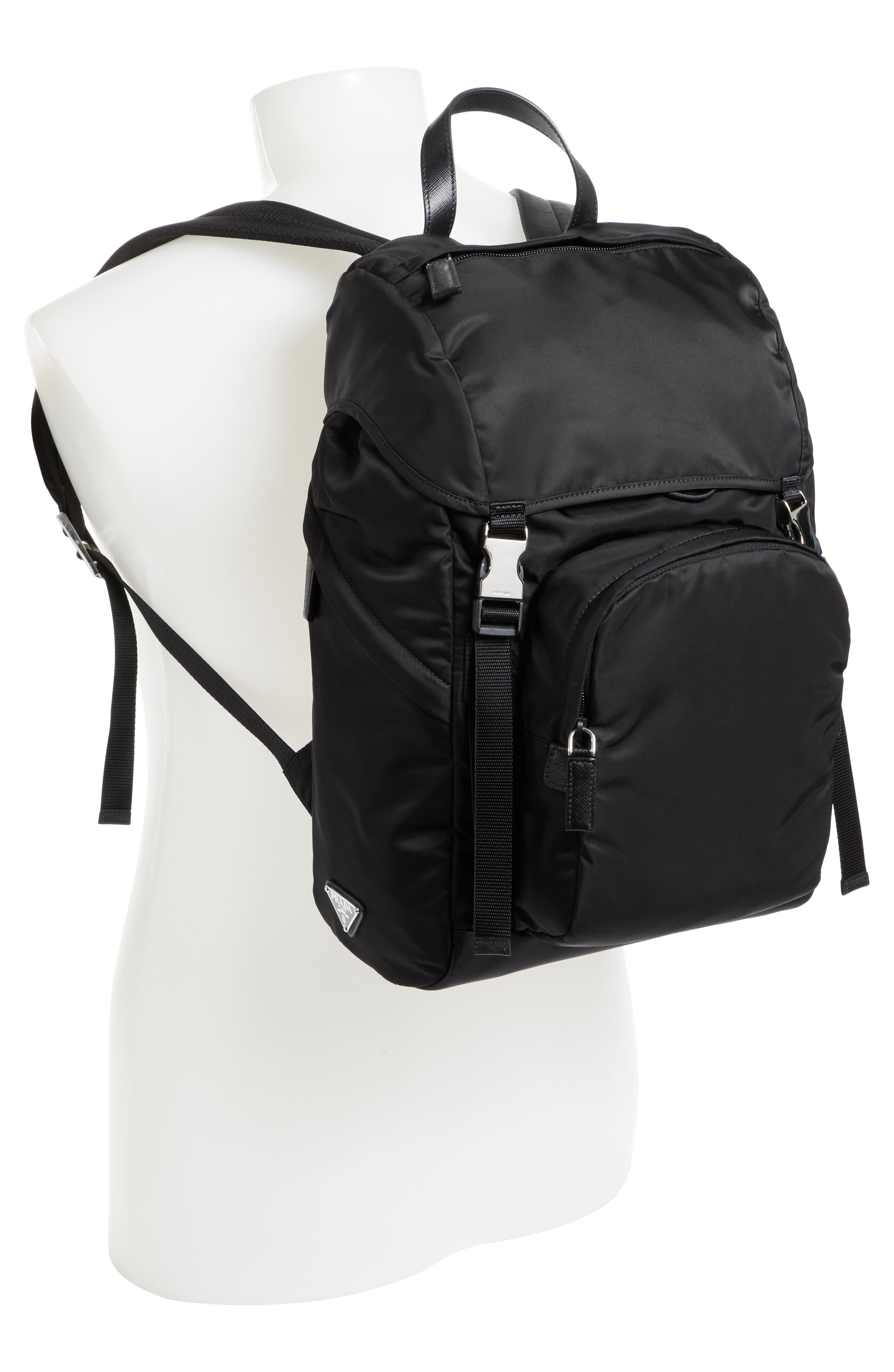 Montagna Backpack,                             Alternate thumbnail 2, color,                             Nero