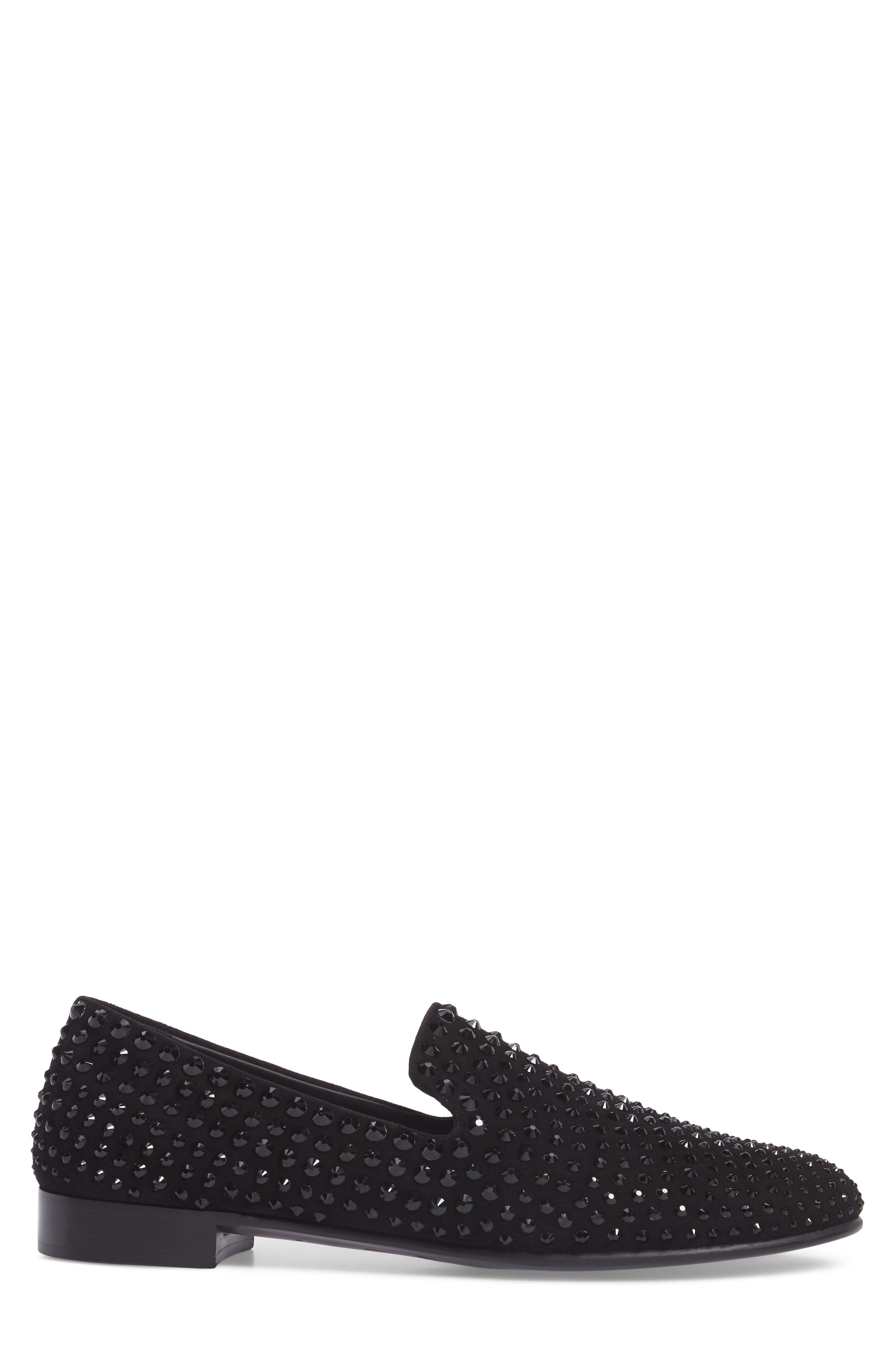 Loafer,                             Alternate thumbnail 3, color,                             Black