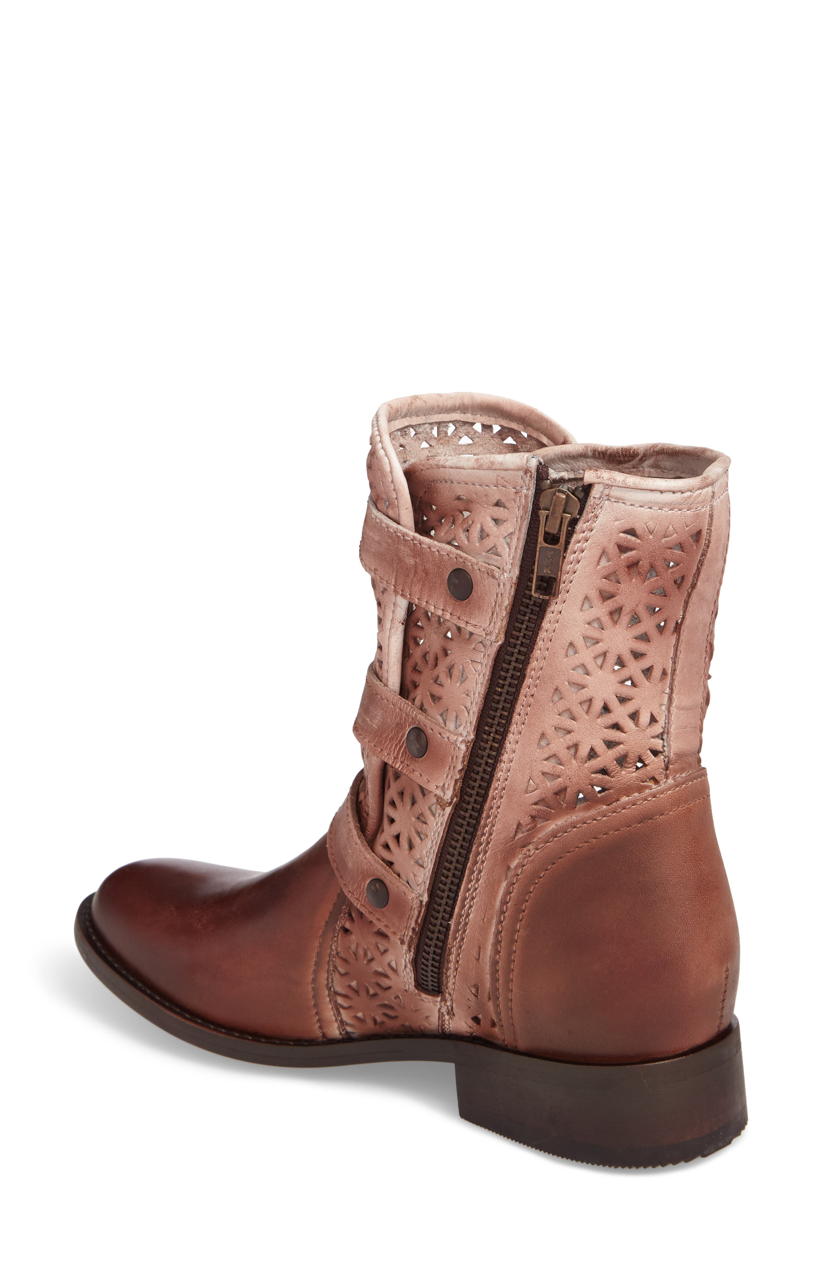 Annex Bootie,                             Alternate thumbnail 2, color,                             Brown Leather