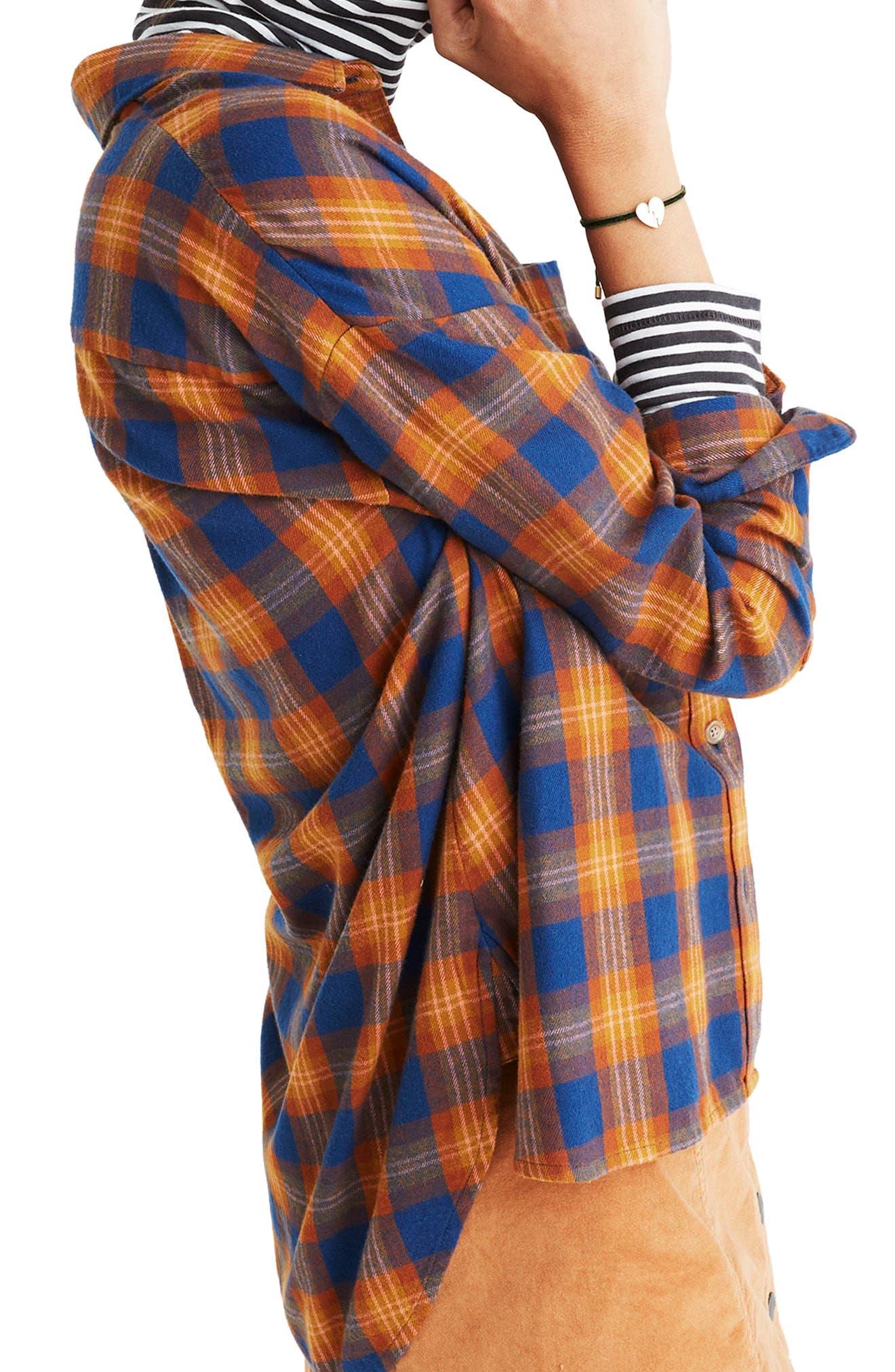 Alternate Image 3  - Madewell Westward Ardan Plaid Shirt
