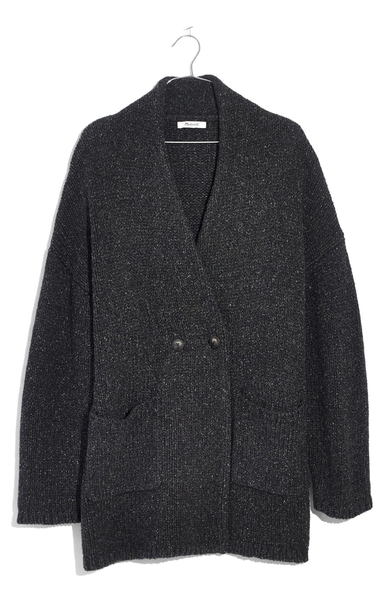 Glenhill Sweater Coat,                             Alternate thumbnail 4, color,                             Ashland Slate