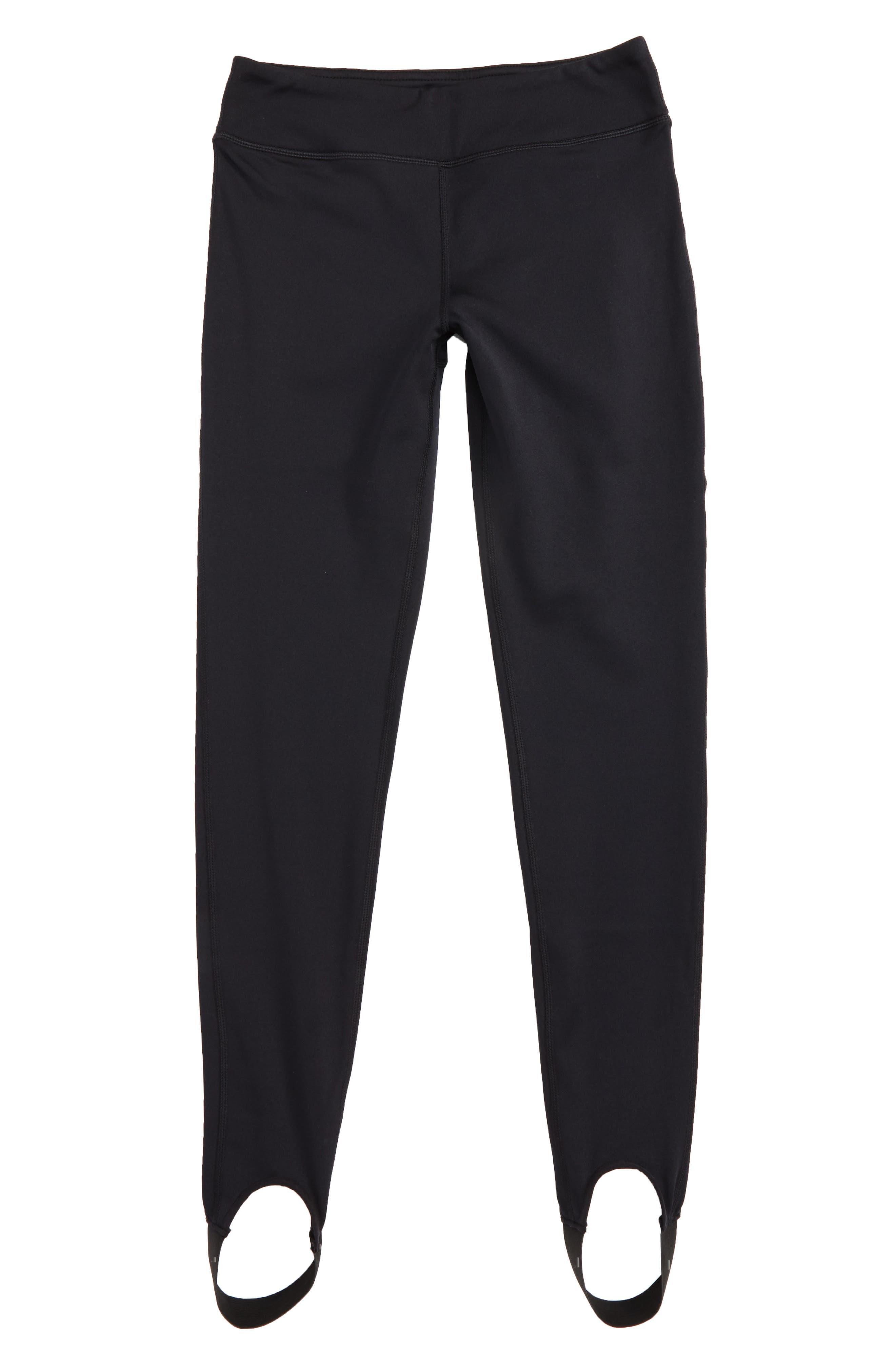 Stirrup Leggings,                         Main,                         color, Black