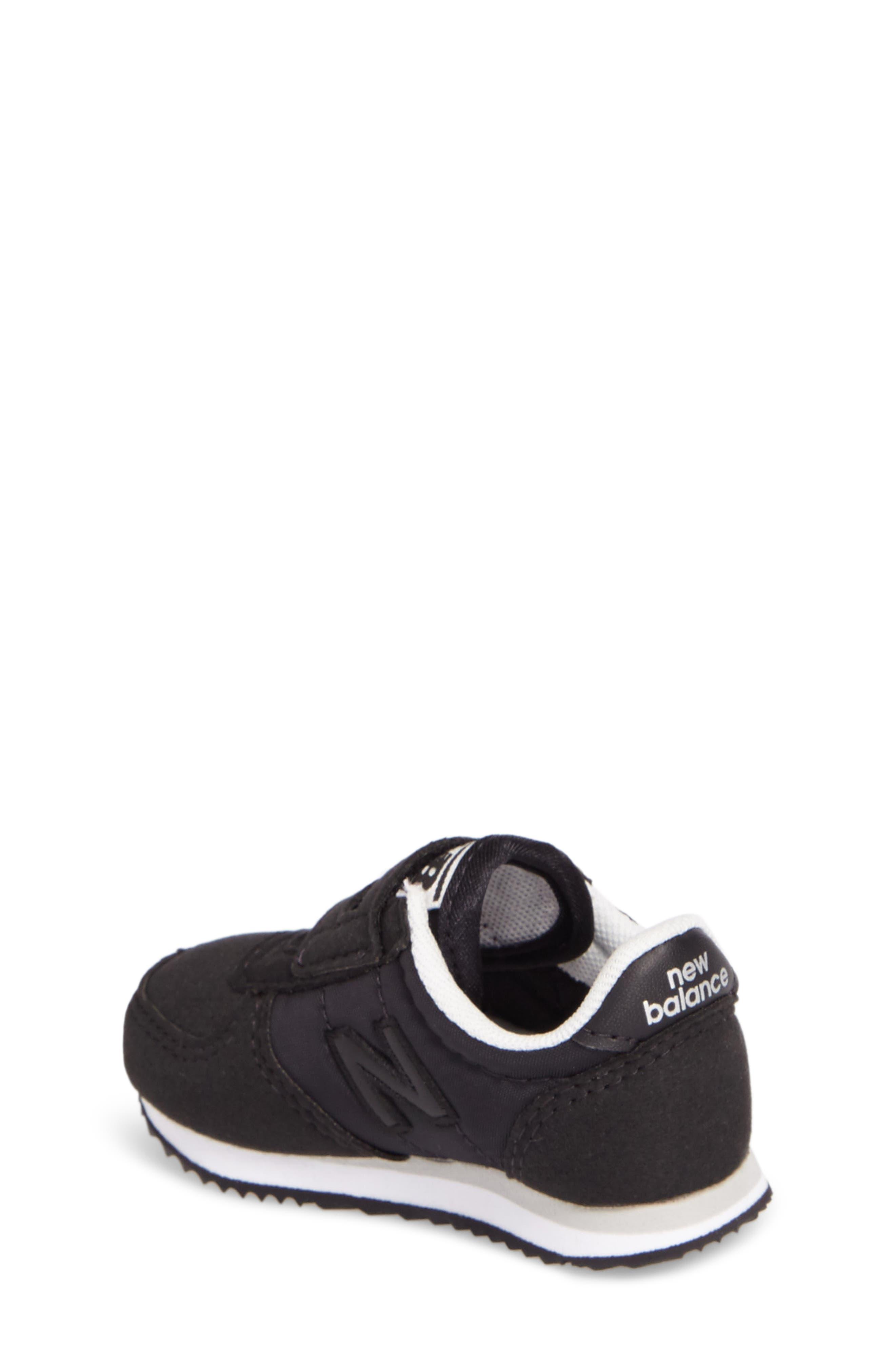 220 Hook and Loop Sneaker,                             Alternate thumbnail 2, color,                             Black