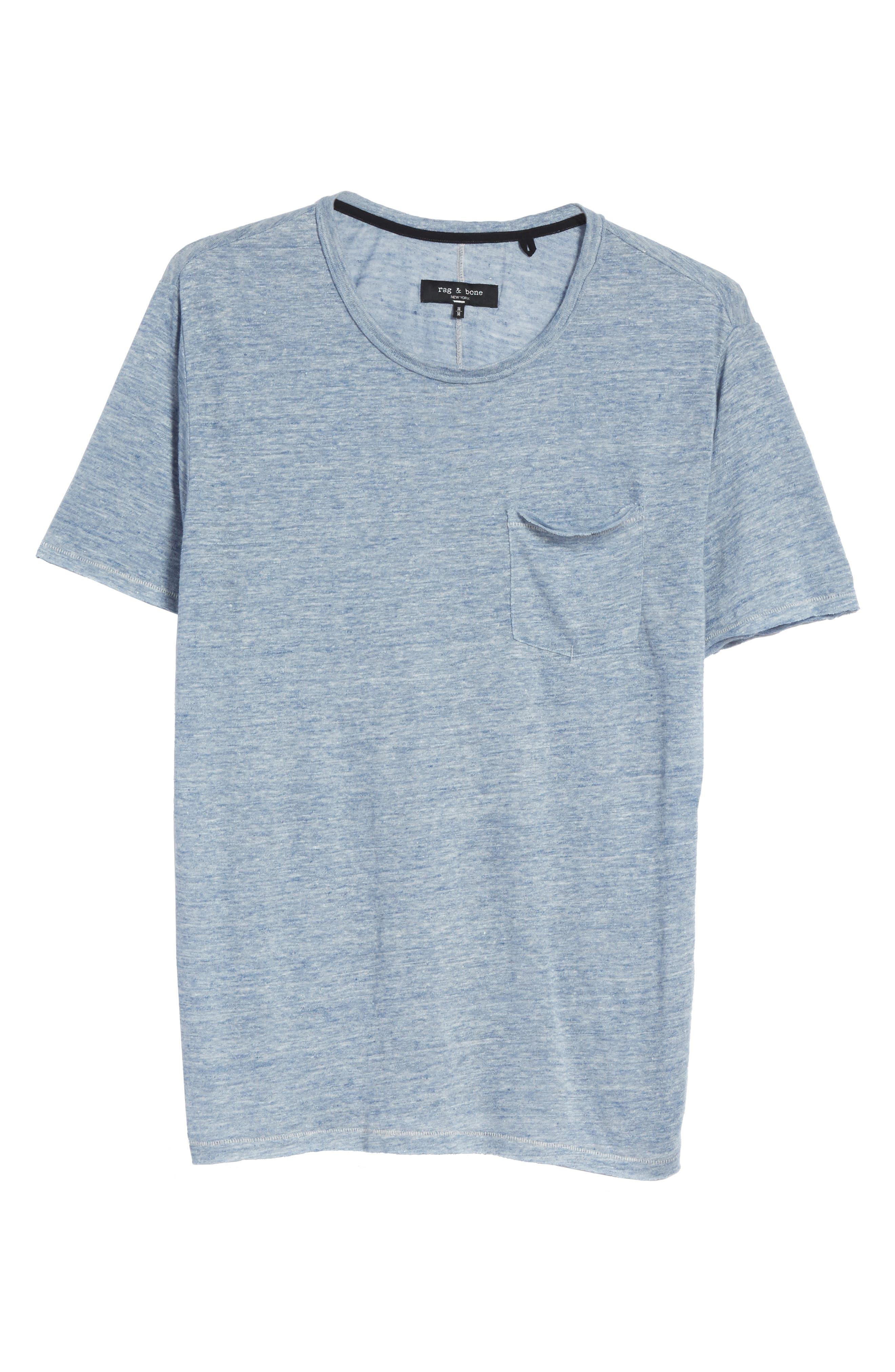 Owen T-Shirt,                             Alternate thumbnail 6, color,                             Blue