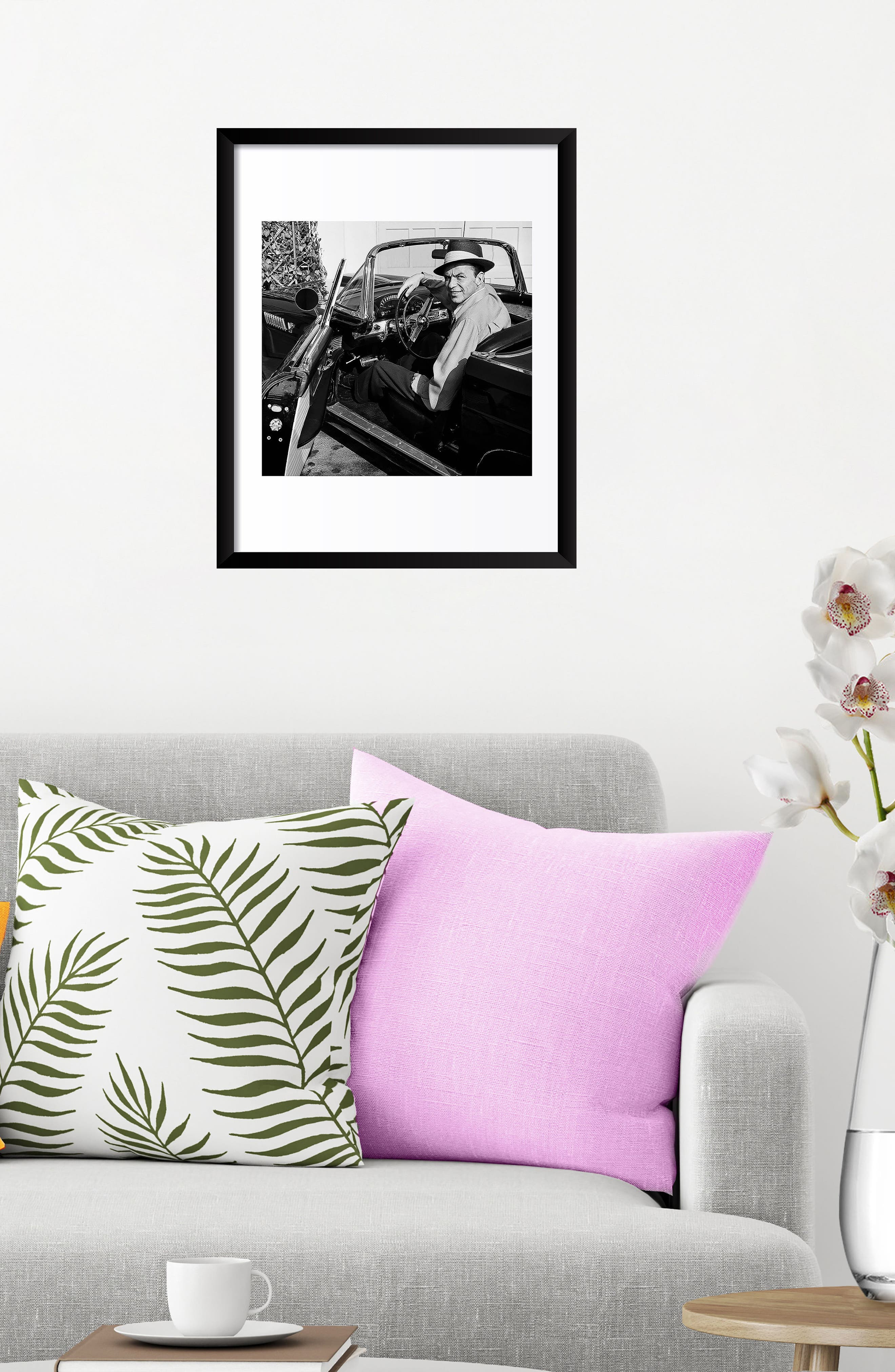 Alternate Image 3  - Artography Limited Frank Sinatra Fine Art Print
