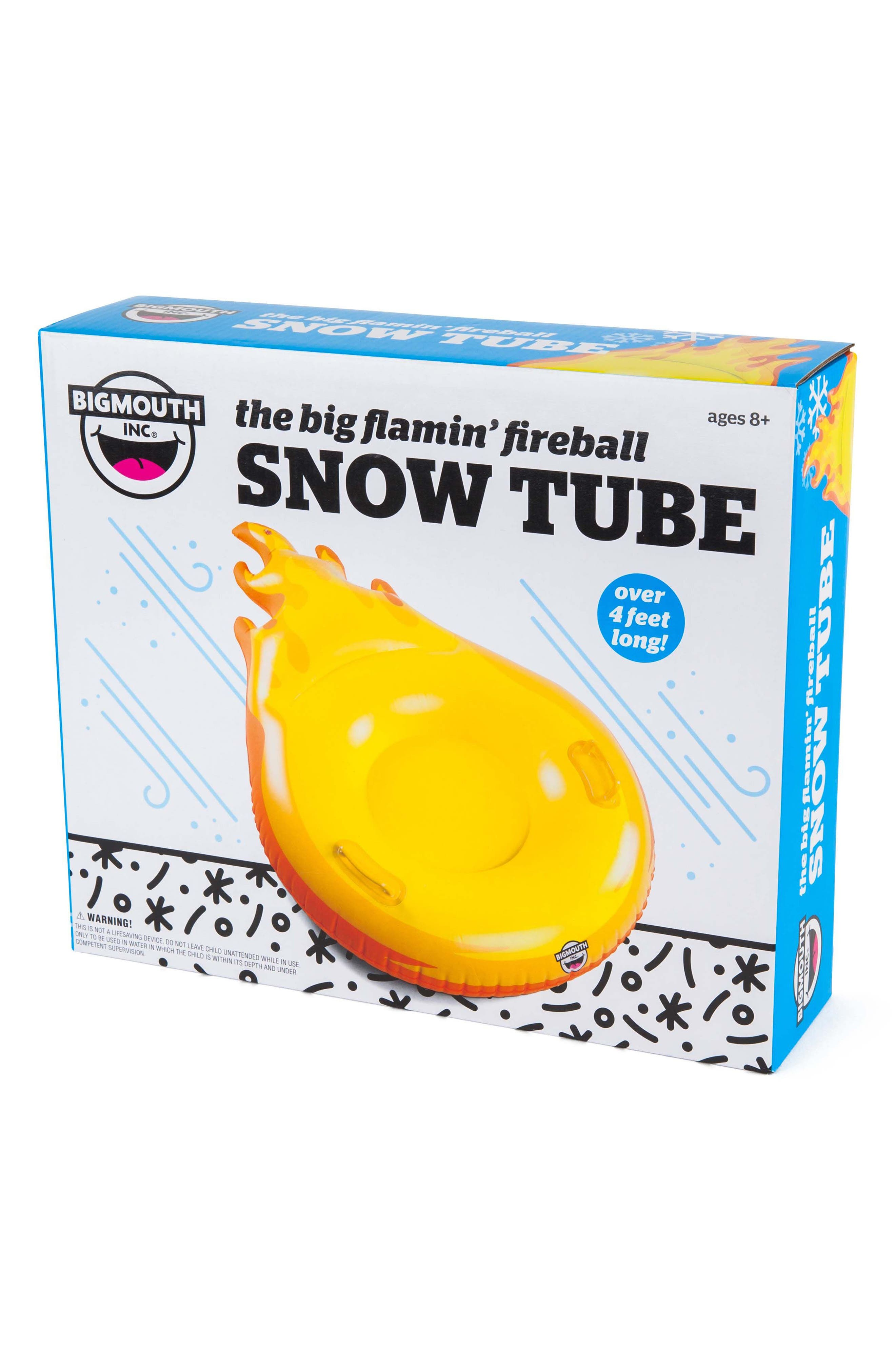 BigMouth Inc. Flamin' Fireball Inflatable Snow Tube