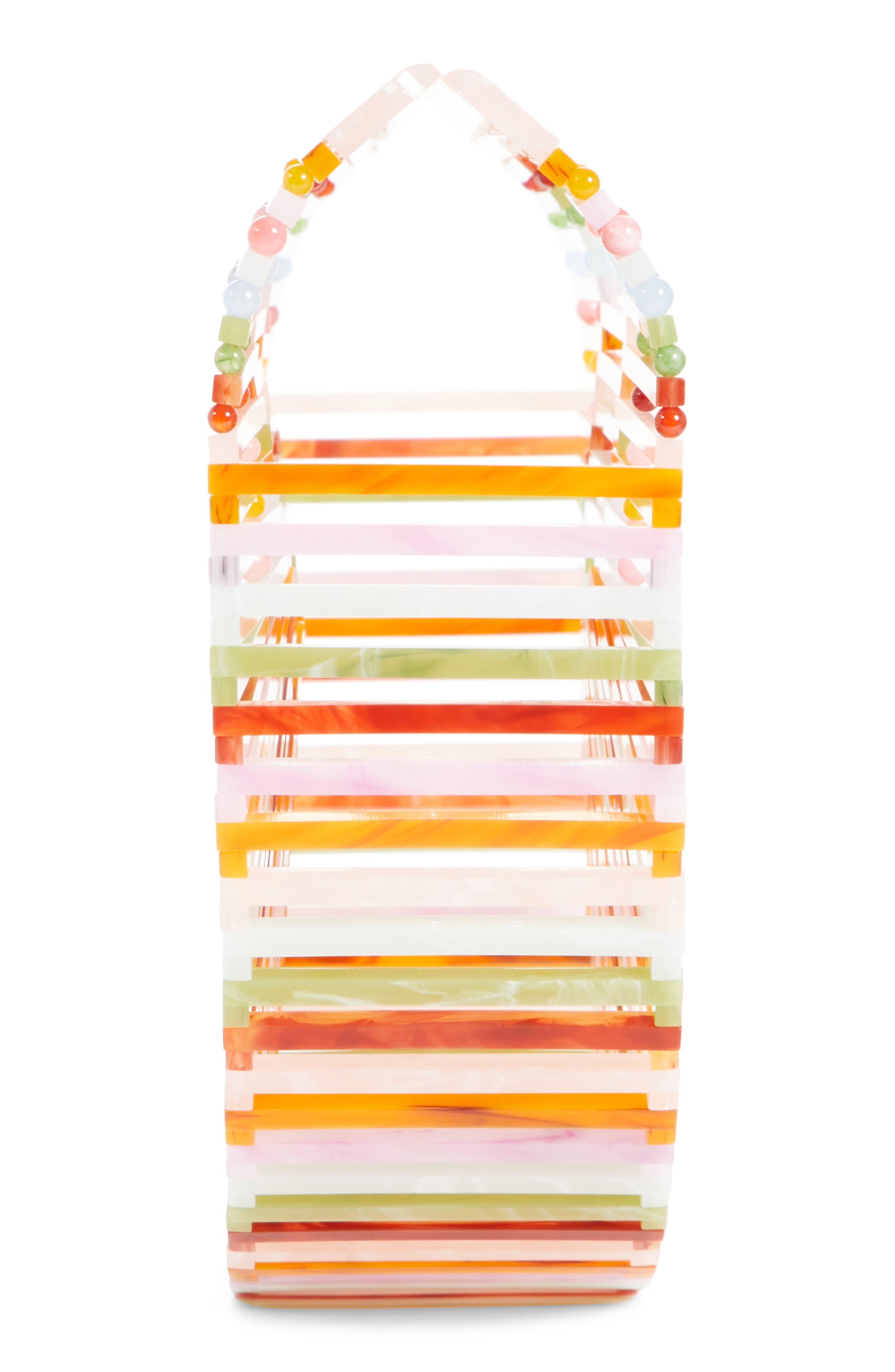 Small Ark Handbag,                             Alternate thumbnail 6, color,                             Multi