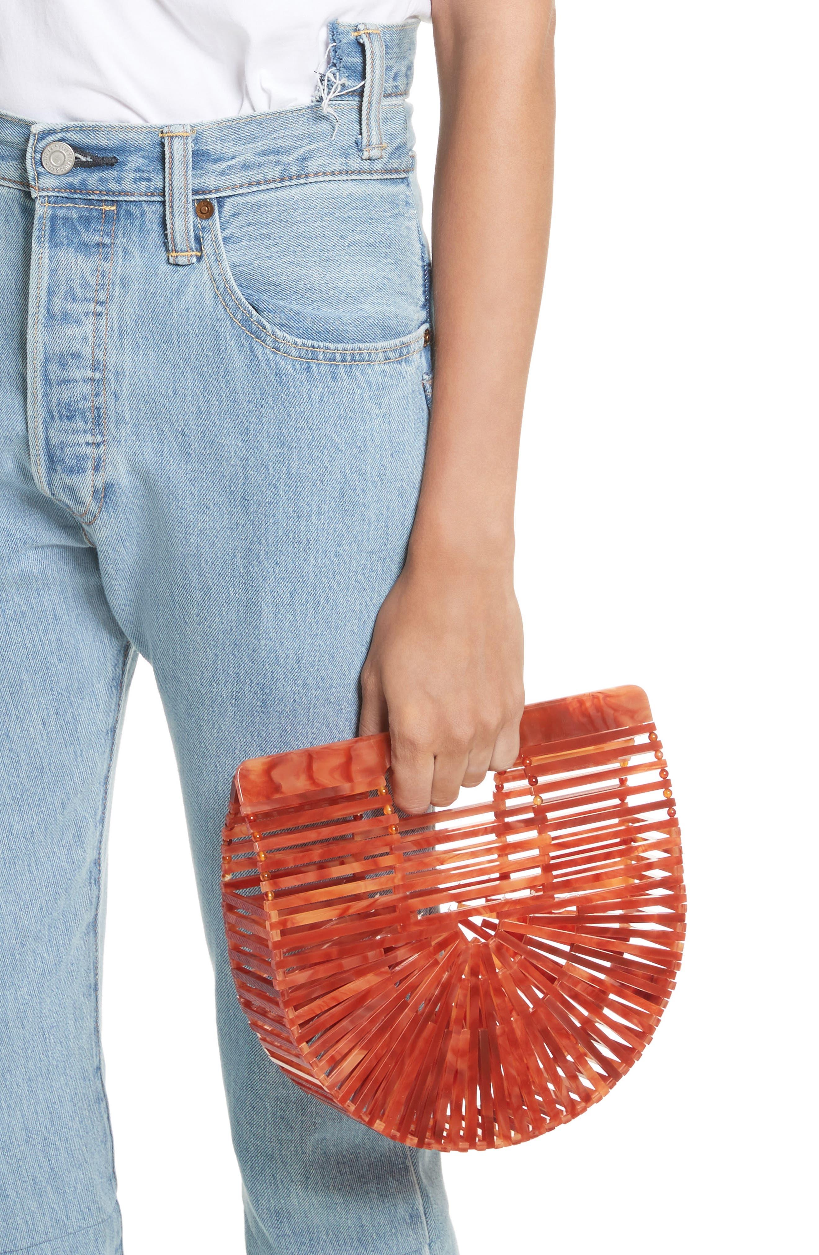 Mini Ark Handbag,                             Alternate thumbnail 2, color,                             Agate