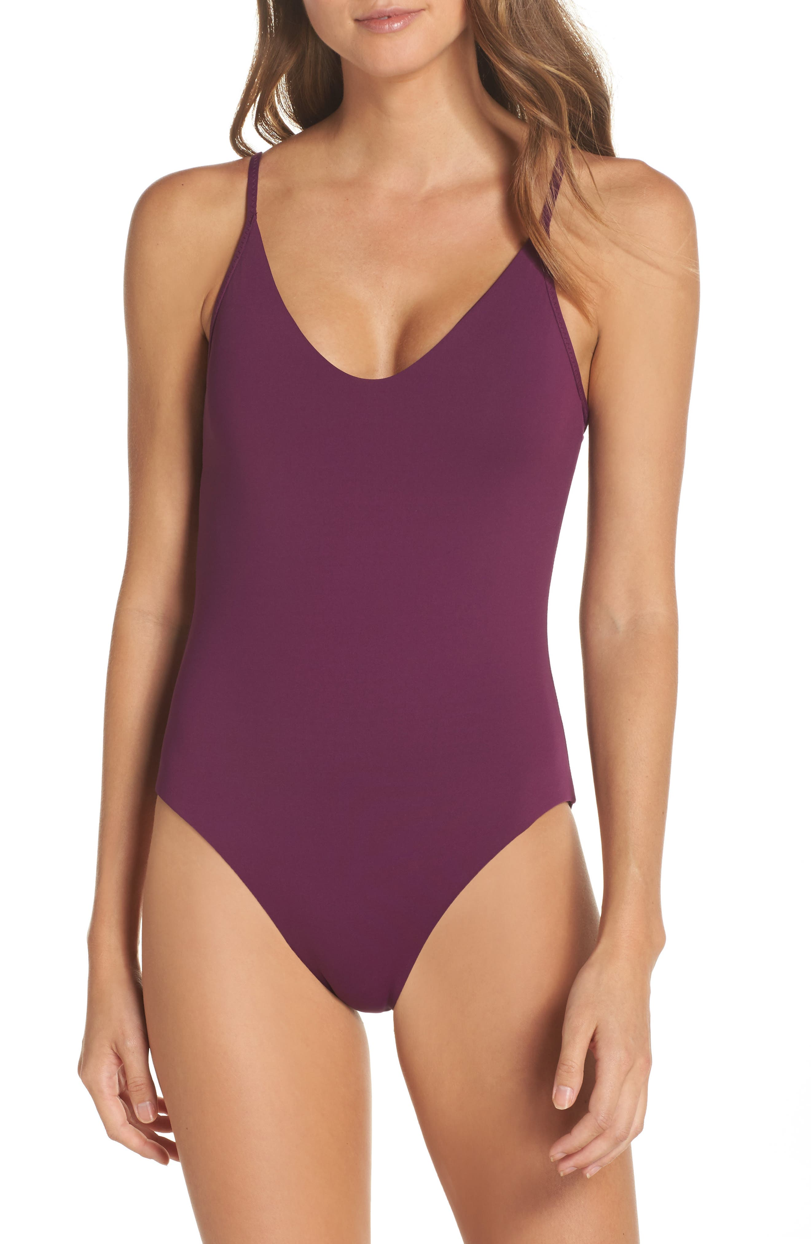 Main Image - Becca Color Code Clean One-Piece Swimsuit