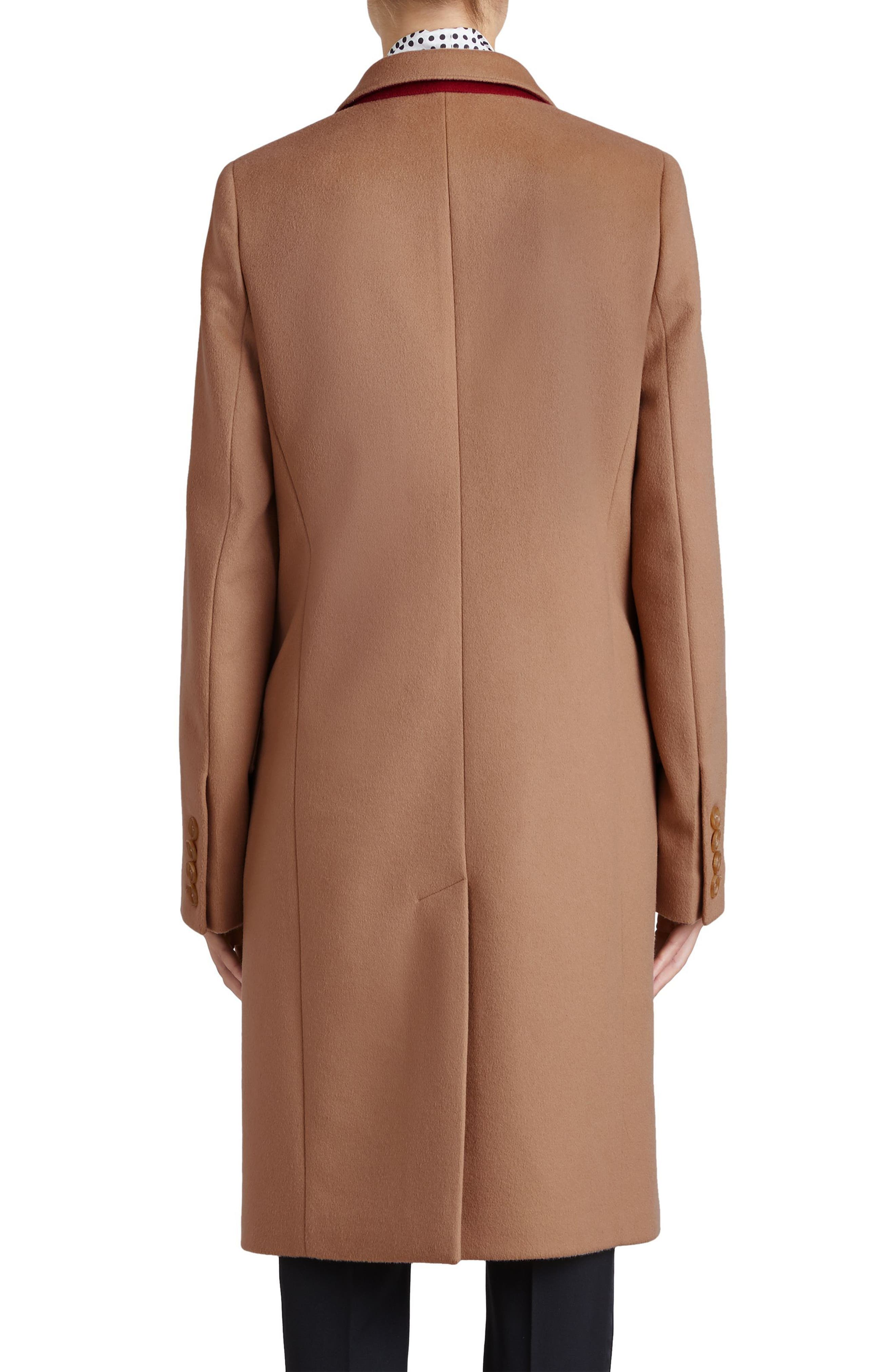 Fellhurst Wool & Cashmere Coat,                             Alternate thumbnail 2, color,                             Camel