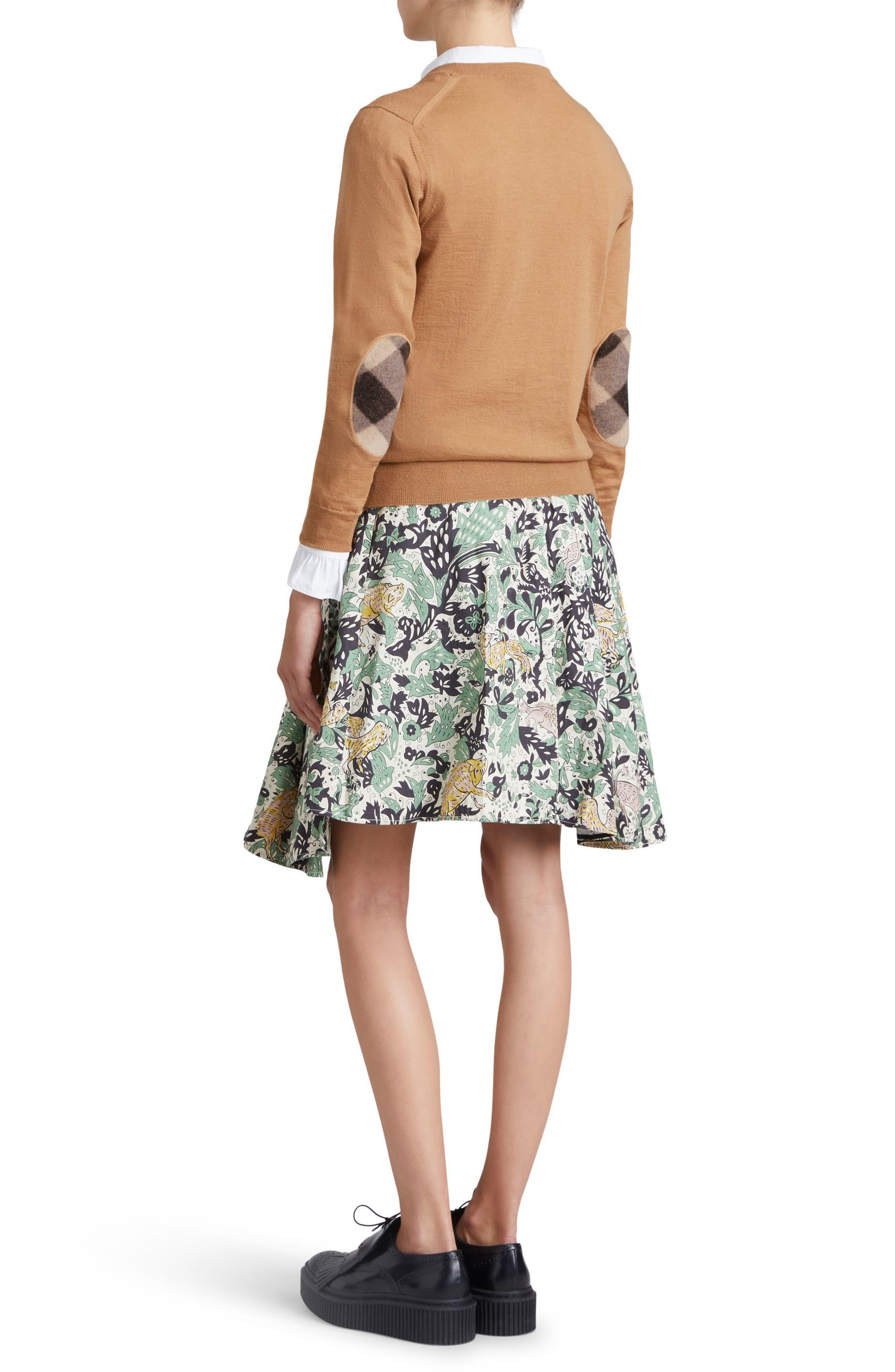 Viar Merino Wool Sweater,                             Alternate thumbnail 2, color,                             Camel