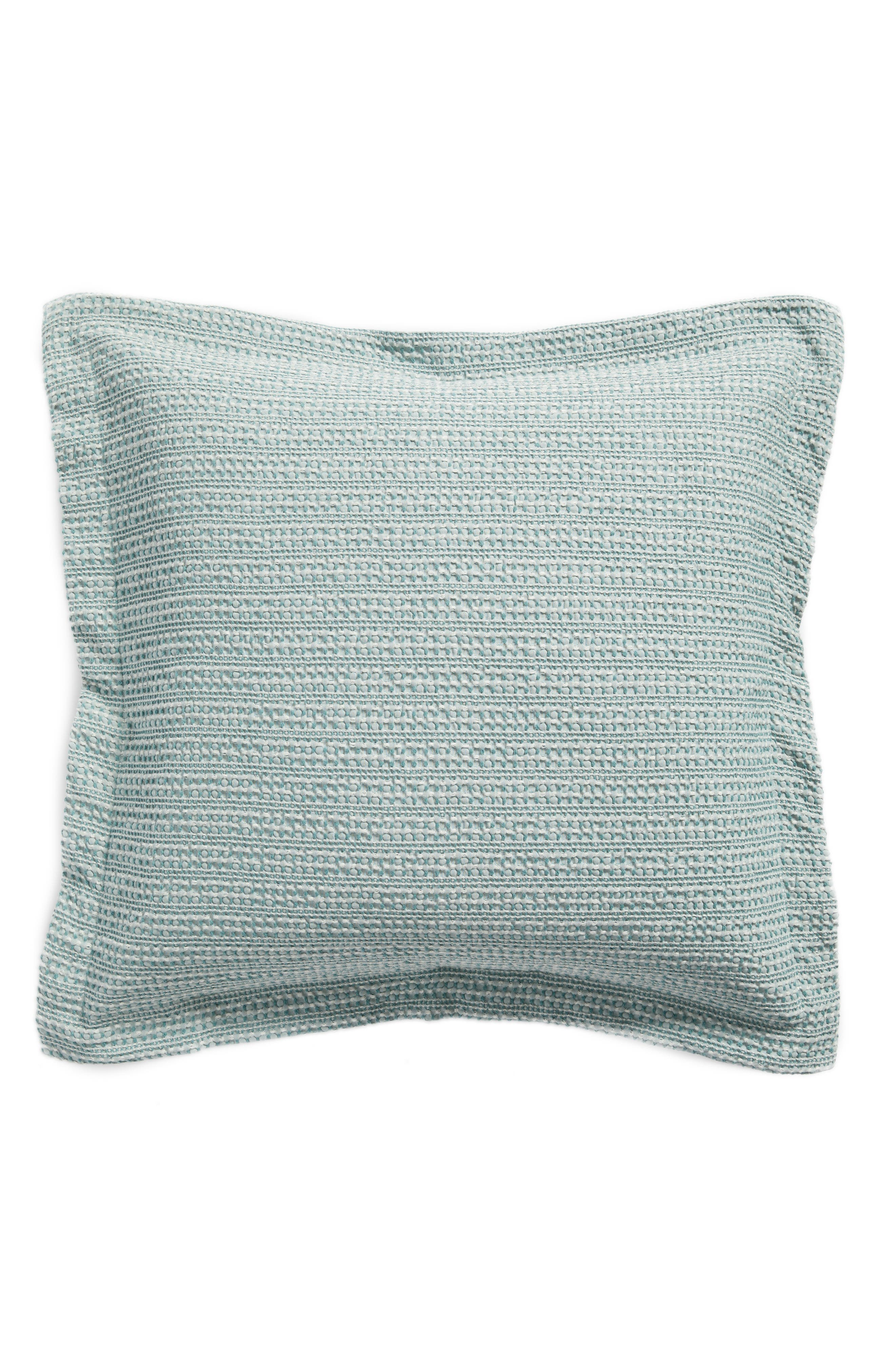 Stitched Accent Pillow,                             Main thumbnail 1, color,                             Spa