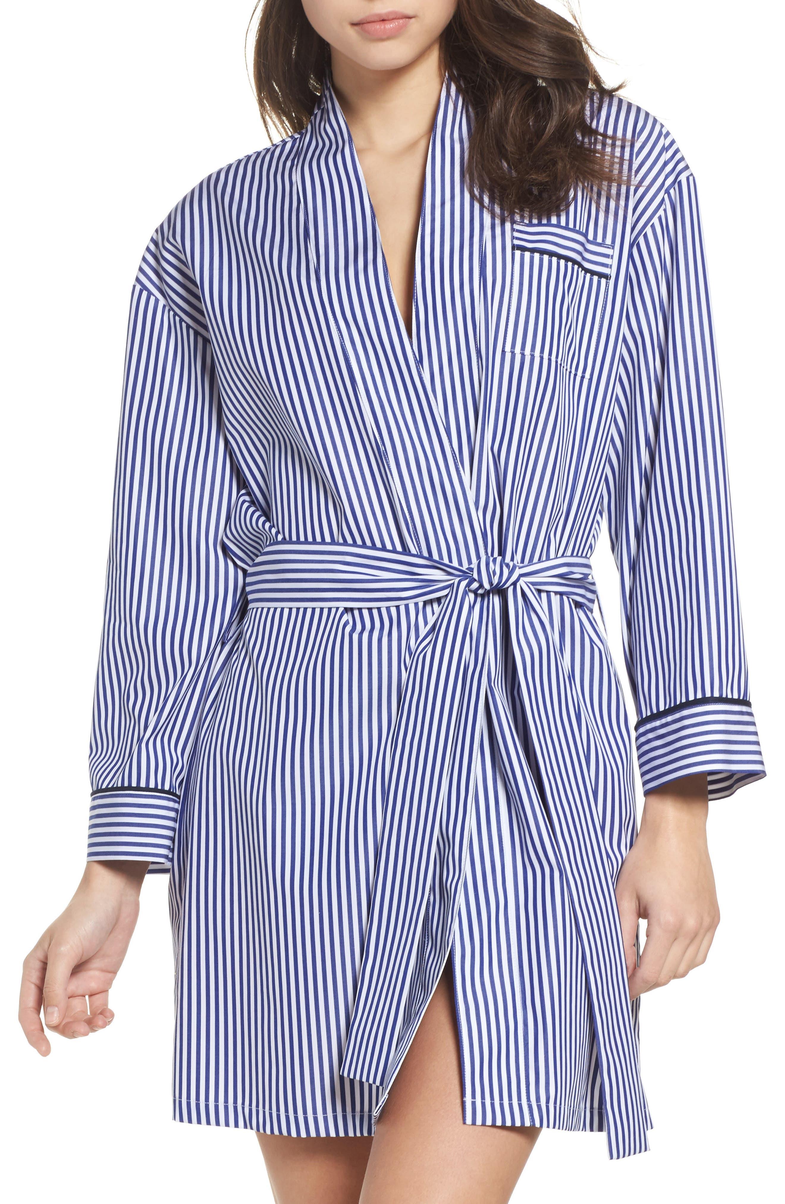 Main Image - Pour Les Femmes Stripe Robe
