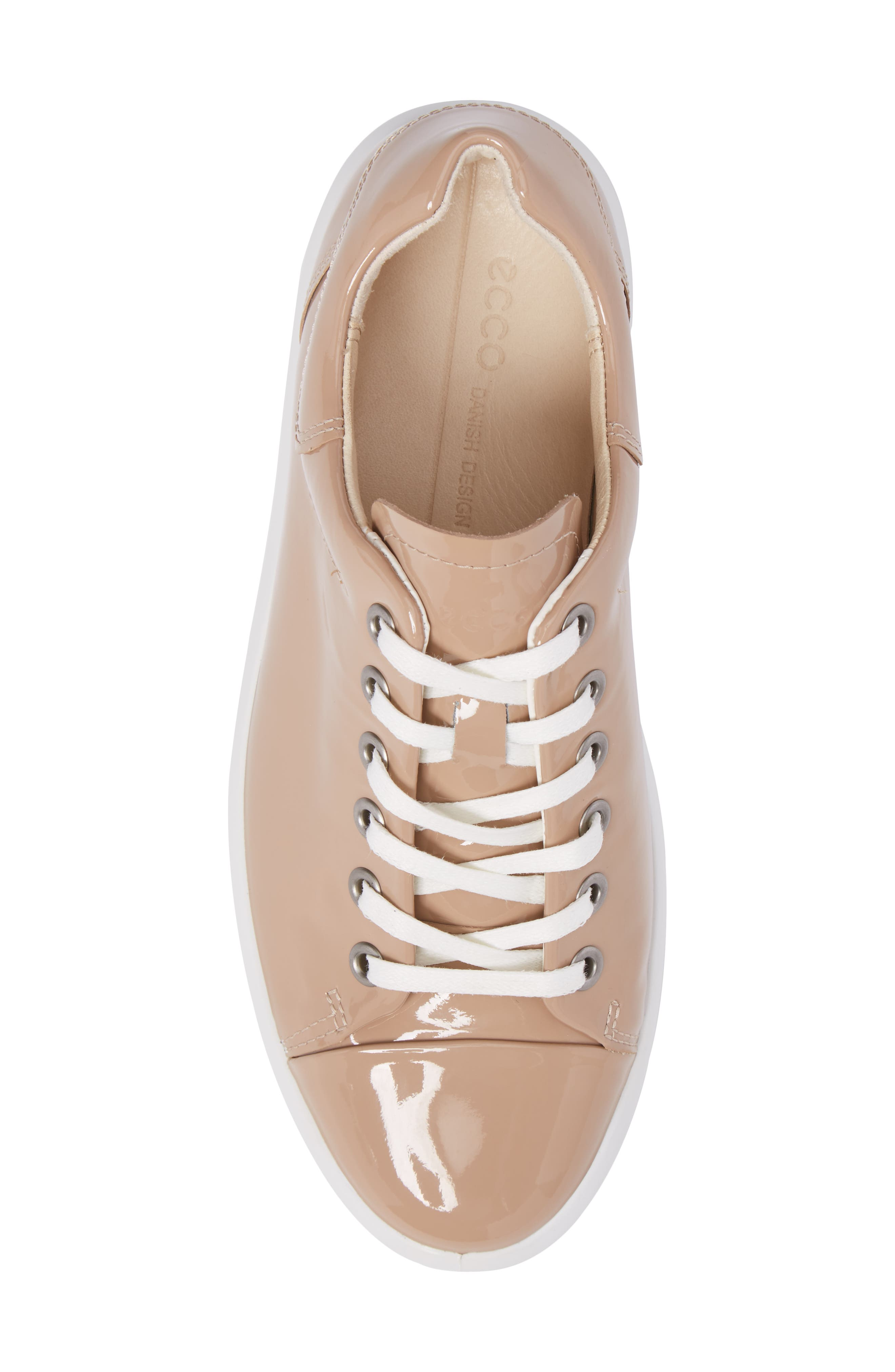 Soft 9 Sneaker,                             Alternate thumbnail 5, color,                             Ginger Leather