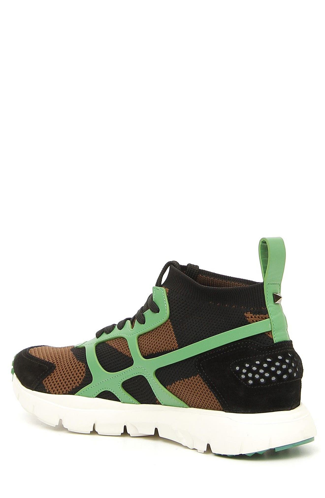 Sound High Sneaker,                             Alternate thumbnail 2, color,                             Army Green/ Nero/ Green