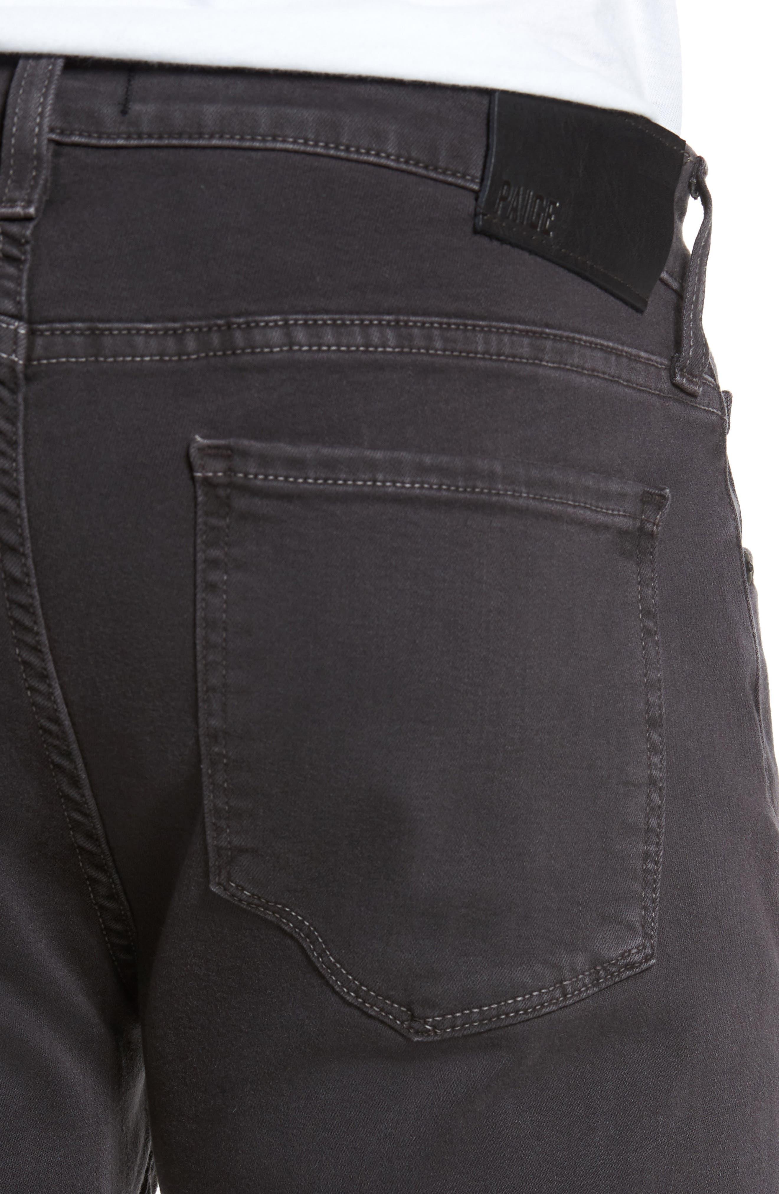 Alternate Image 4  - PAIGE Transcend - Federal Slim Straight Leg Jeans (Vintage Anchor)
