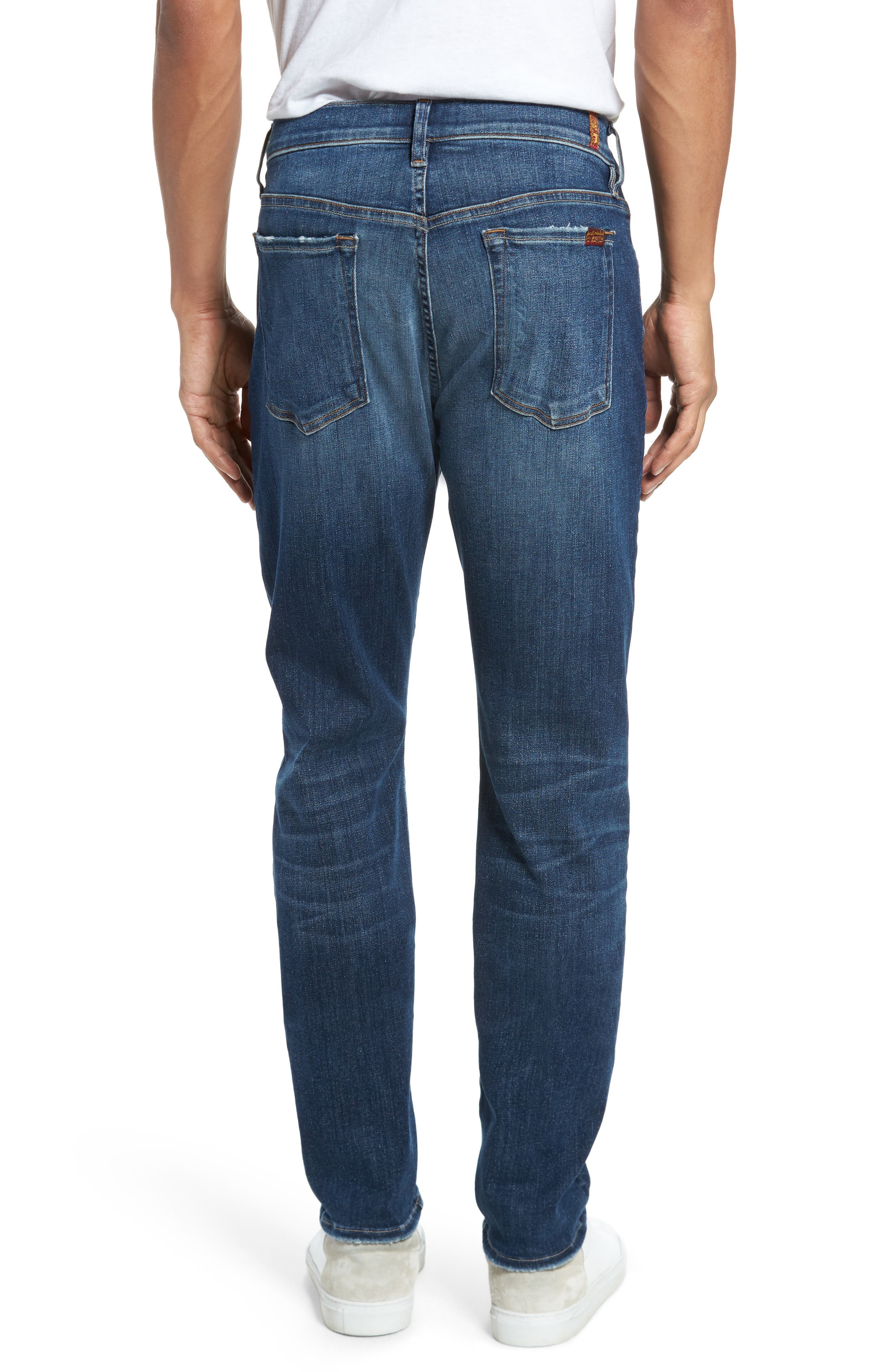 Adrien Slim Fit Jeans,                             Alternate thumbnail 2, color,                             Authentic Euphoria